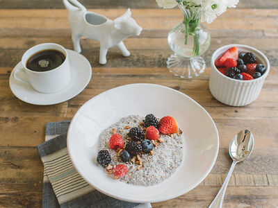 Kelly Leveque Talks about Fiber and Shares Her Go-To Recipe