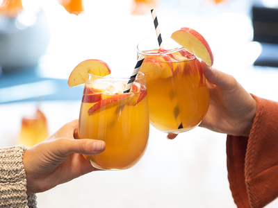 This Seasonal Spritz is the Perfect Cocktail for a Girls' Night In