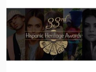 Jessica Alba honored at 33rd Hispanic Heritage Awards