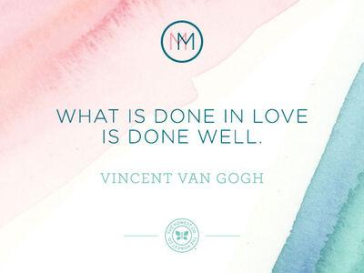 Mindful Monday: Van Gogh on Love