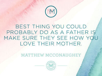 Mindful Monday: Matthew McConaughey on Fatherhood