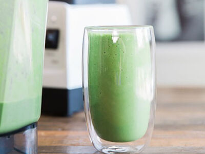 Jessica's Fave Get-Fit Smoothie via Nutritionist Kelly Leveque