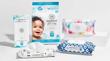 baby wipes in various sizes and prints