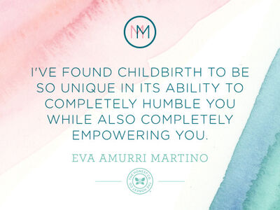 Mindful Monday: Eva Amurri Martino on Childbirth