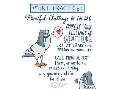 Find Gratitude with Stop, Breathe & Think