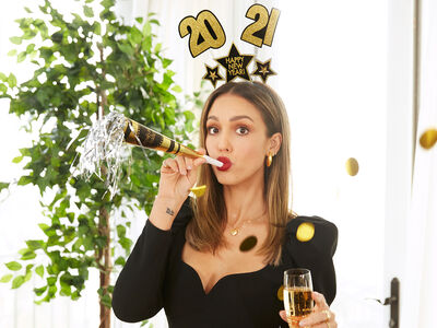 Ring in the New Year with Jessica Alba