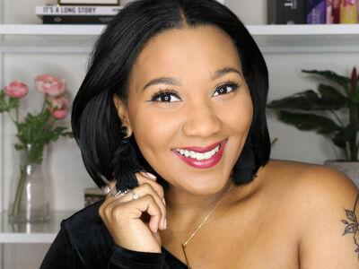 How to Get Tiffany DeSilva's Holiday Dark Lip Look