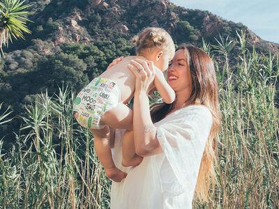Behind the Scenes of Our Spring Diaper Shoot: Meet Karley