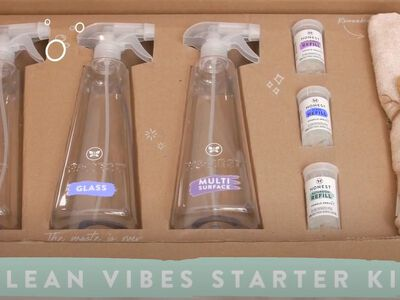 Meet Our NEW Honest Conscious Cleaning Starter Kits