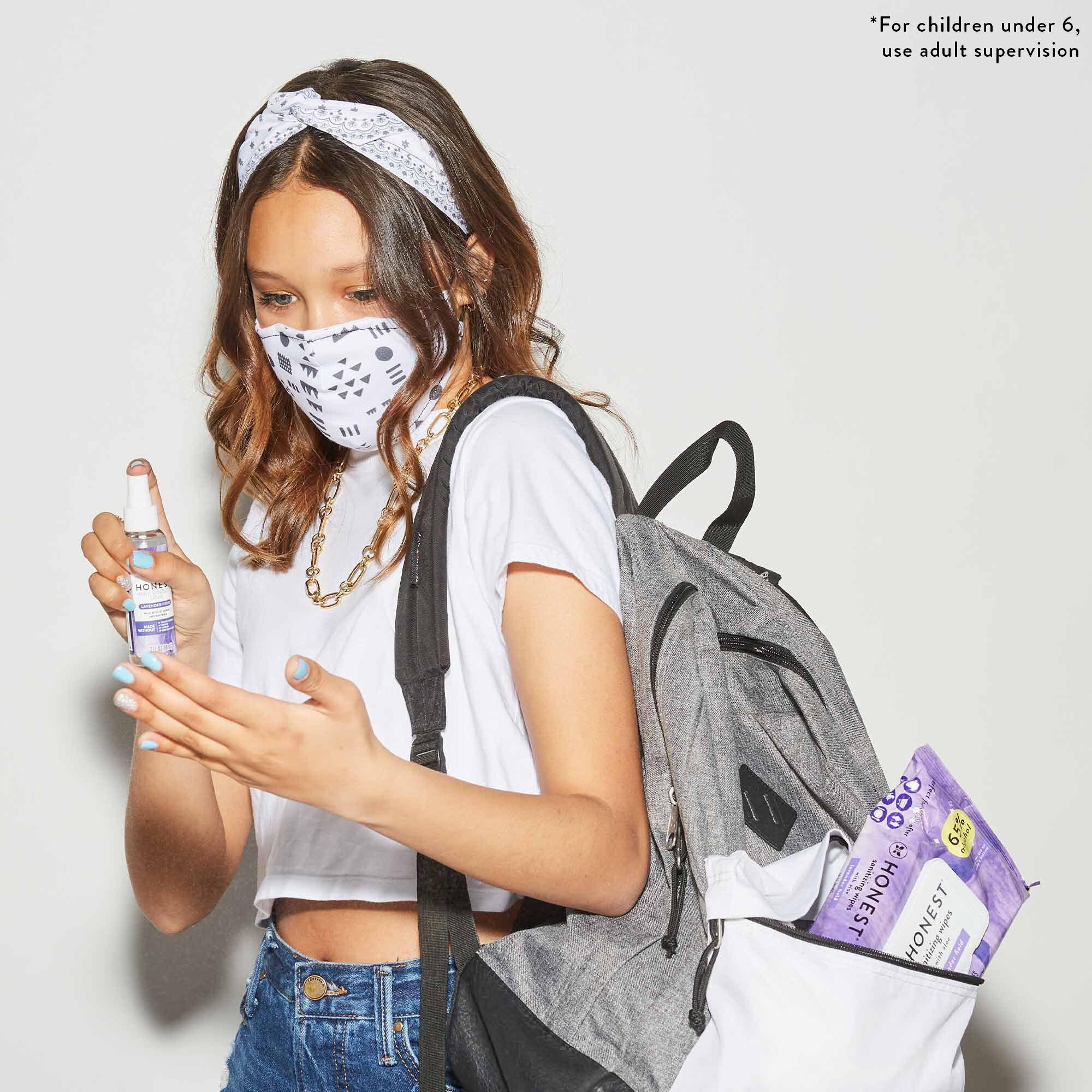 Hand Sanitizer Spray, Lavender Field