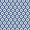 Blue Ikat