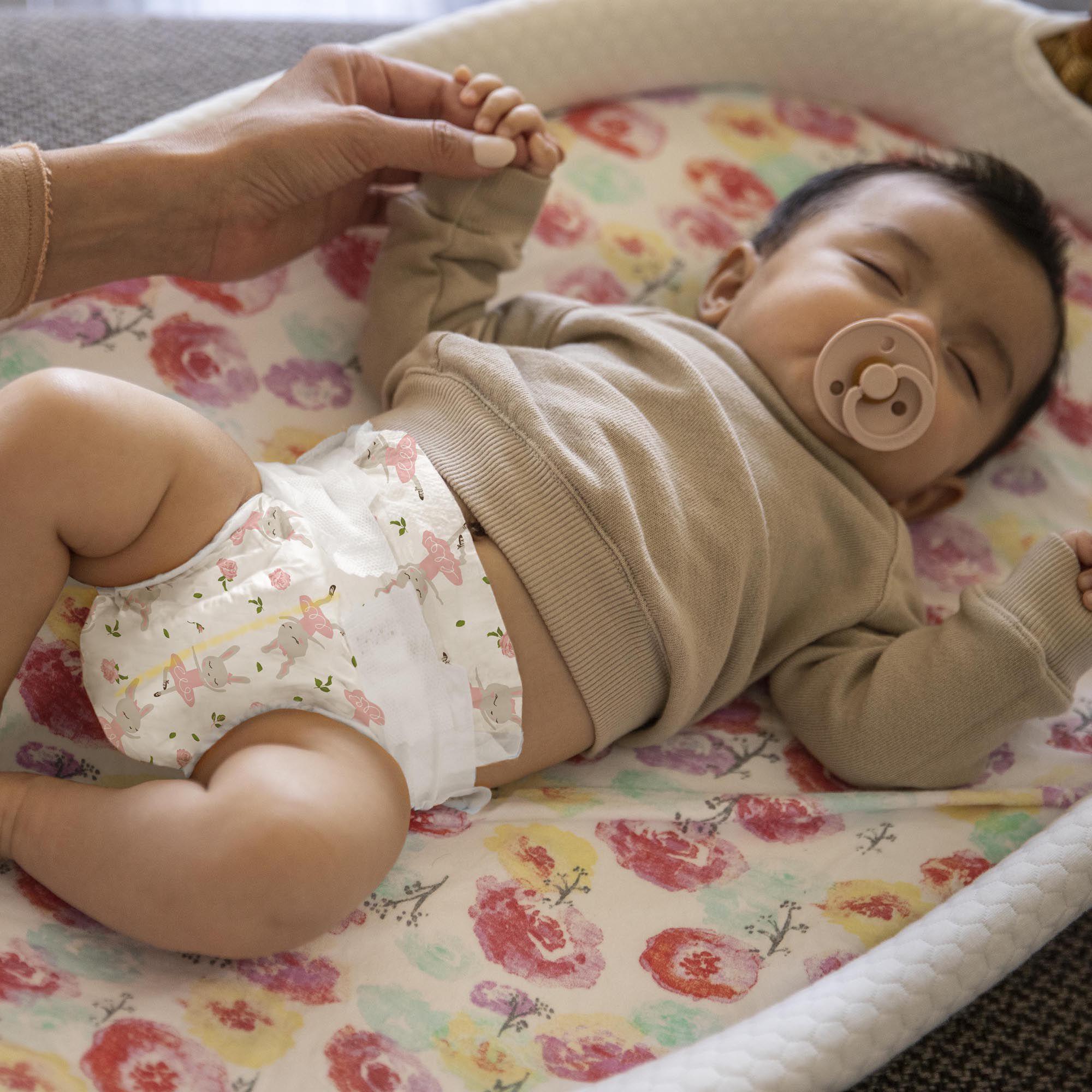 Clean Conscious Diaper, Tutu Cute, Size 2