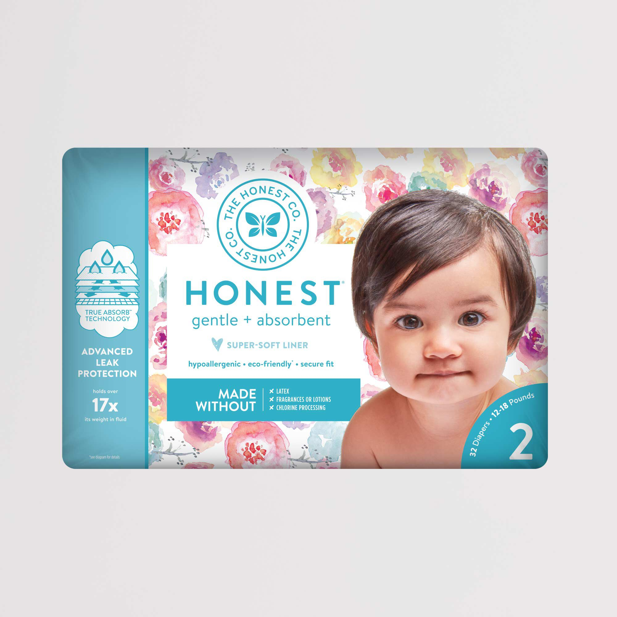 rose blossom diaper package