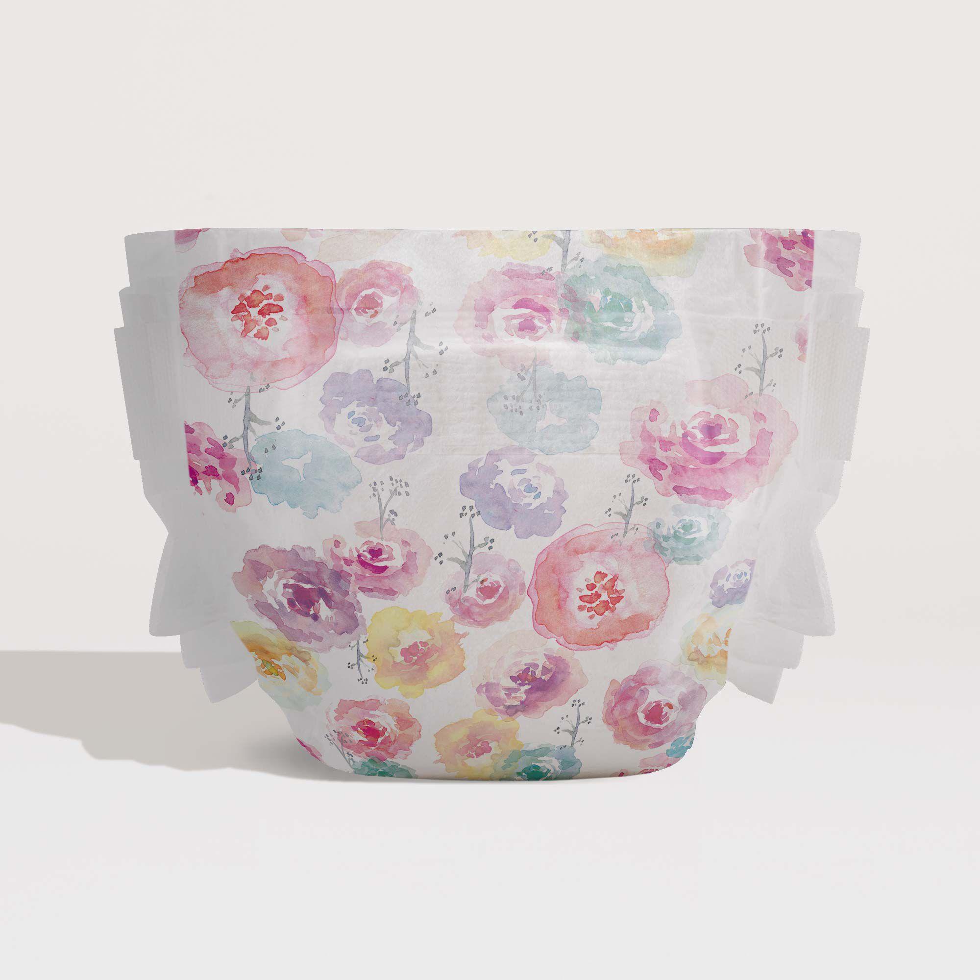 rose blossom diaper