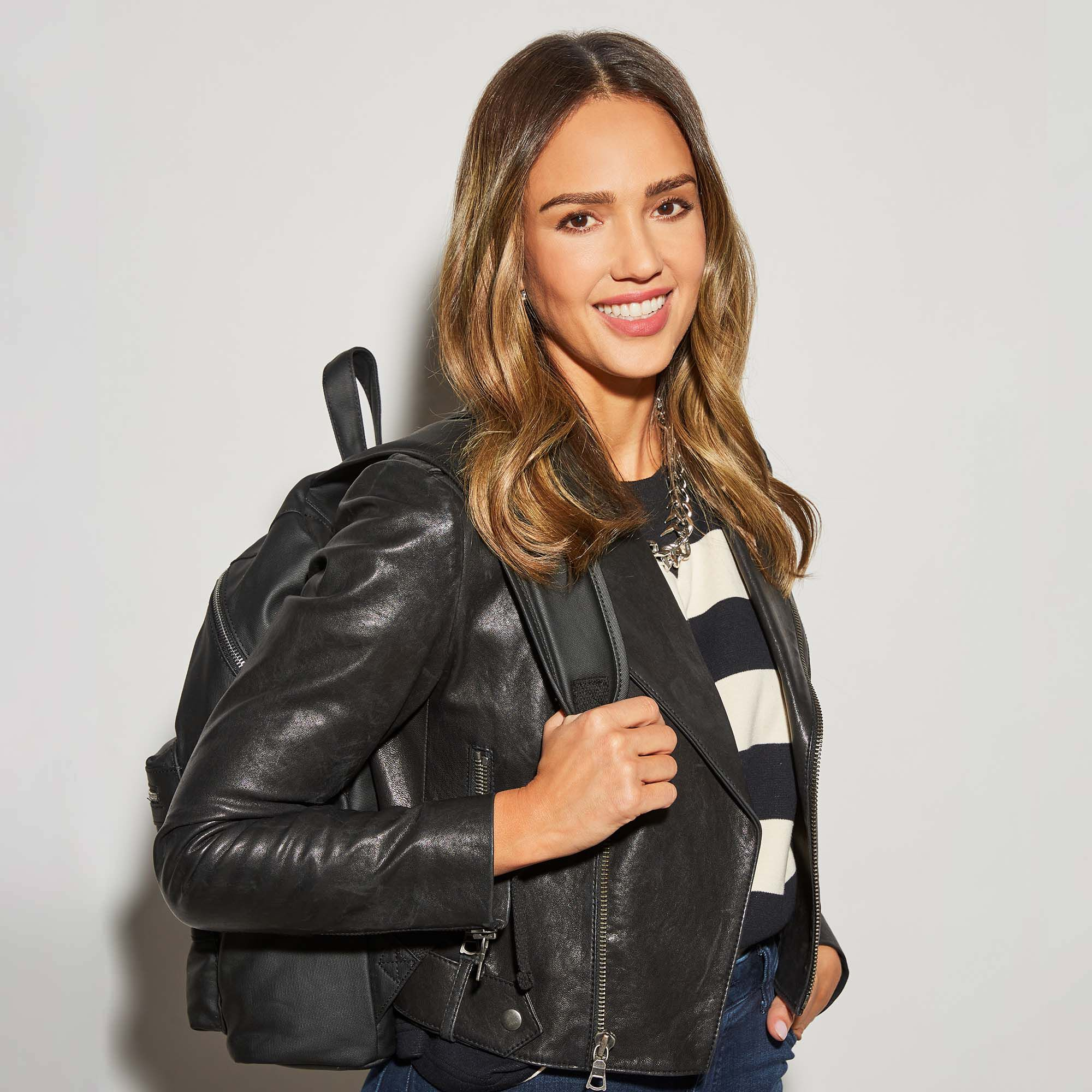 Coated Canvas City Backpack