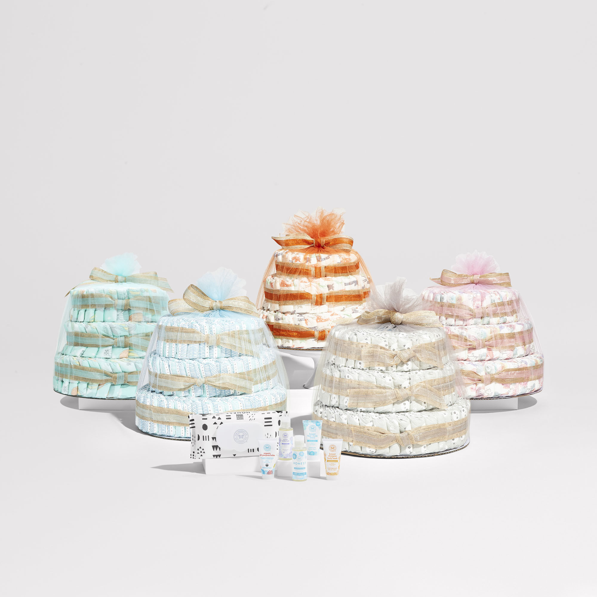 Clean Conscious Diaper Cake, Above It All