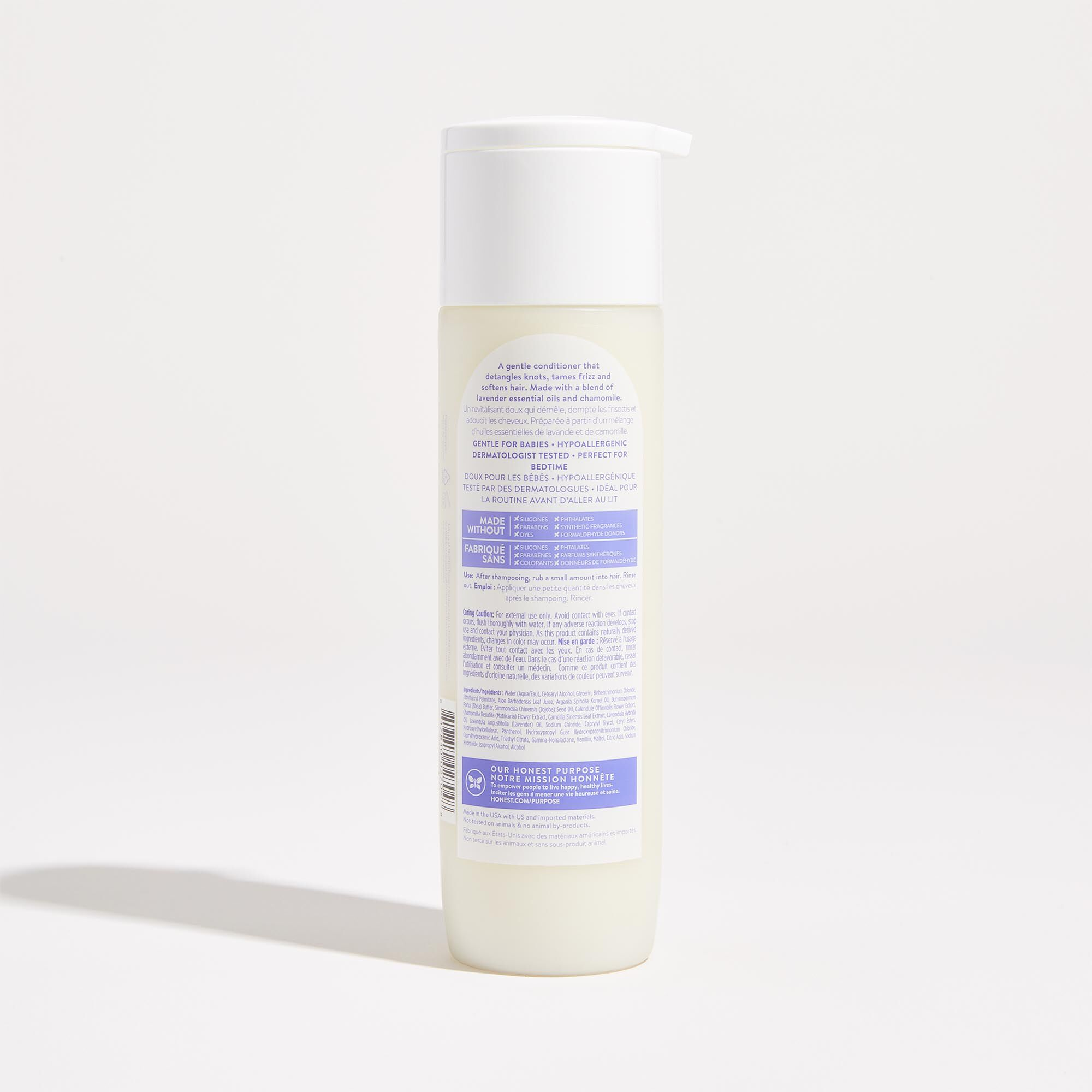 Lavender Field Scented Conditioner Back of Product