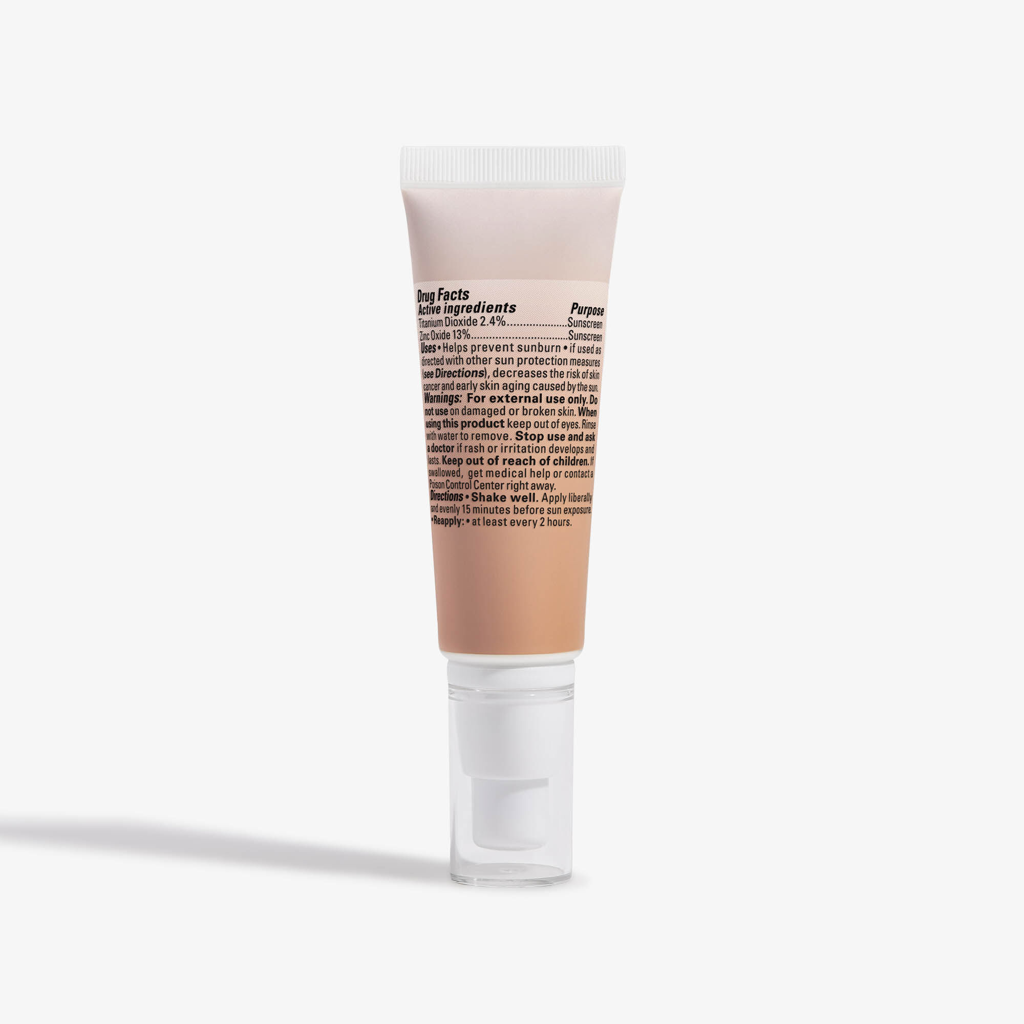 CCC Clean Corrective With Vitamin C Tinted Moisturizer, Light