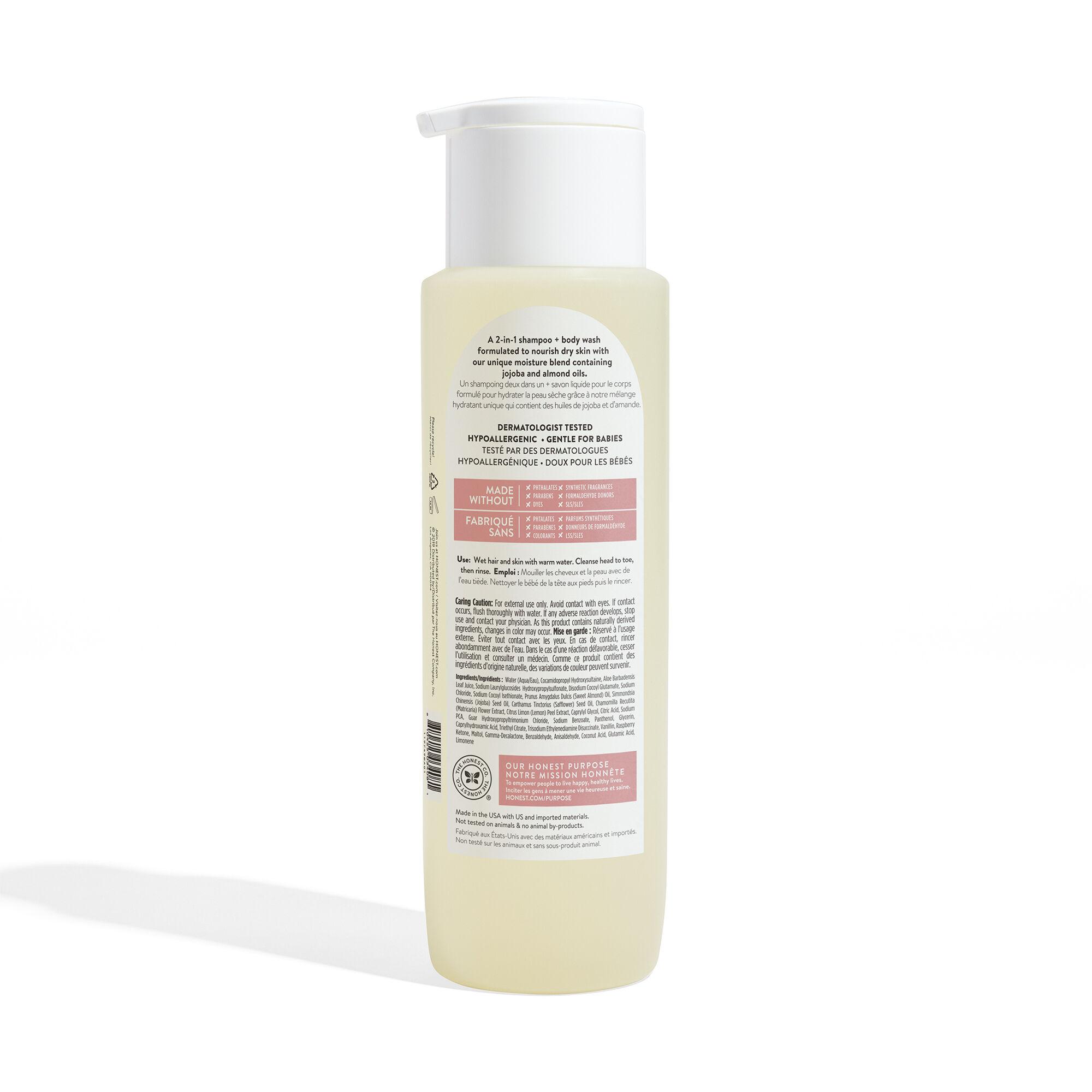Shampoo + Body Wash, Value Size, Gently Nourishing
