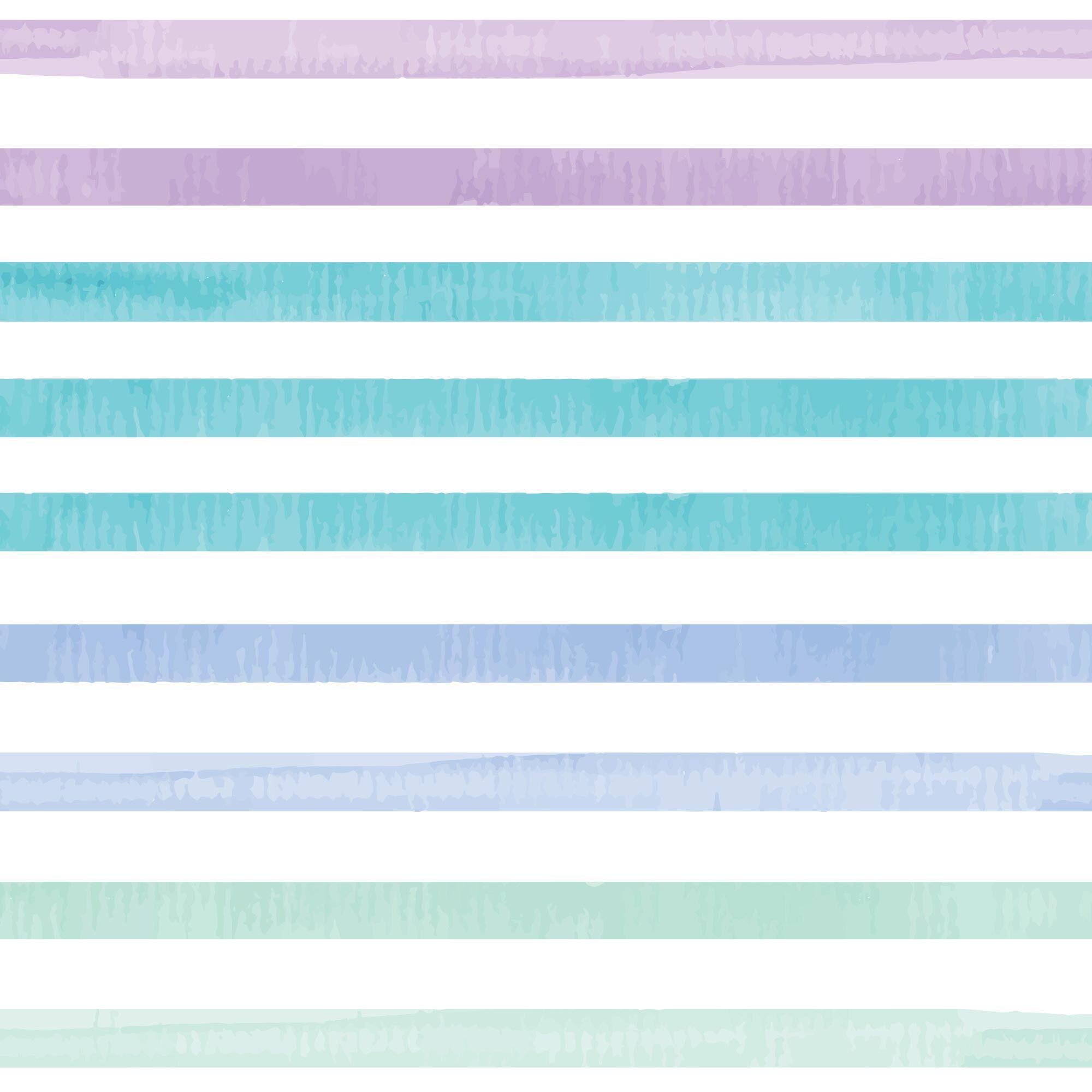 Clean Conscious Diaper, Rainbow Stripes, Size 4