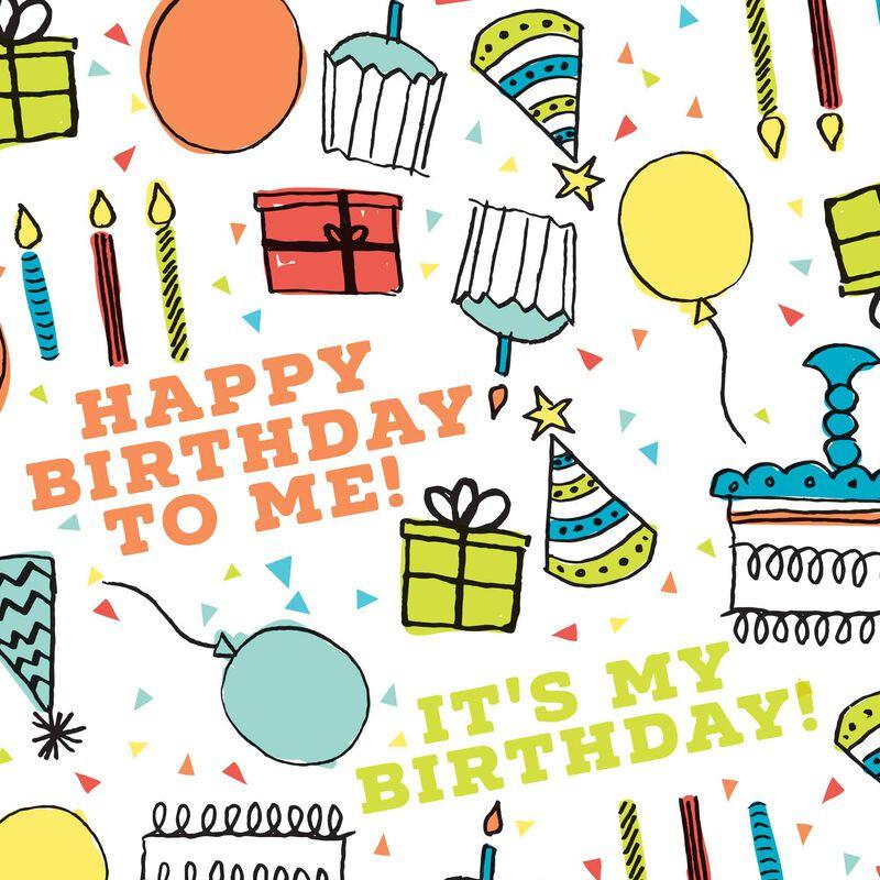 Happy Birthday Swatch