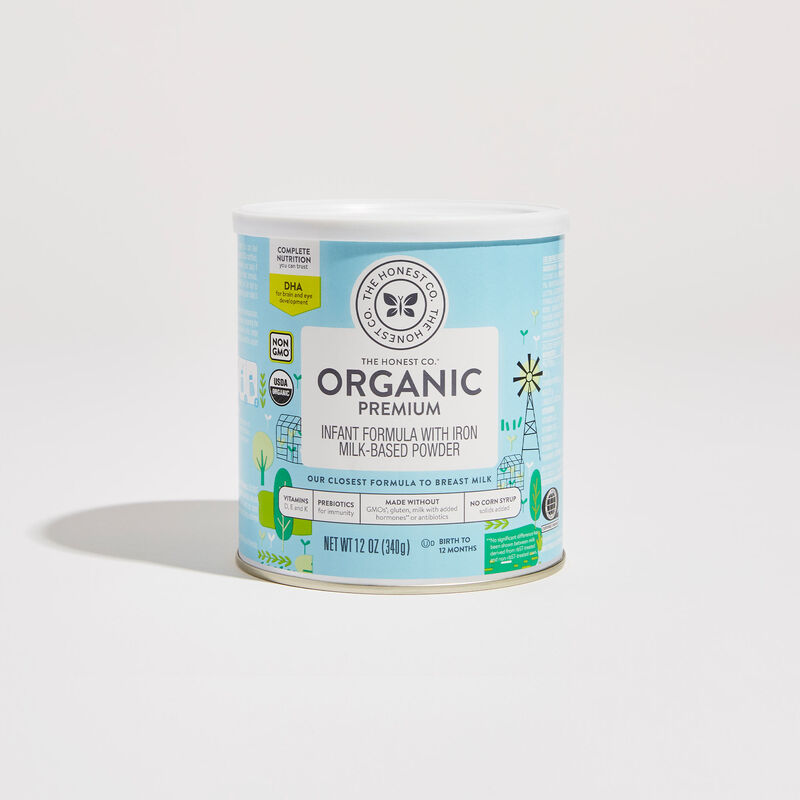 12 ounce Organic Premium Infant Formula in Container