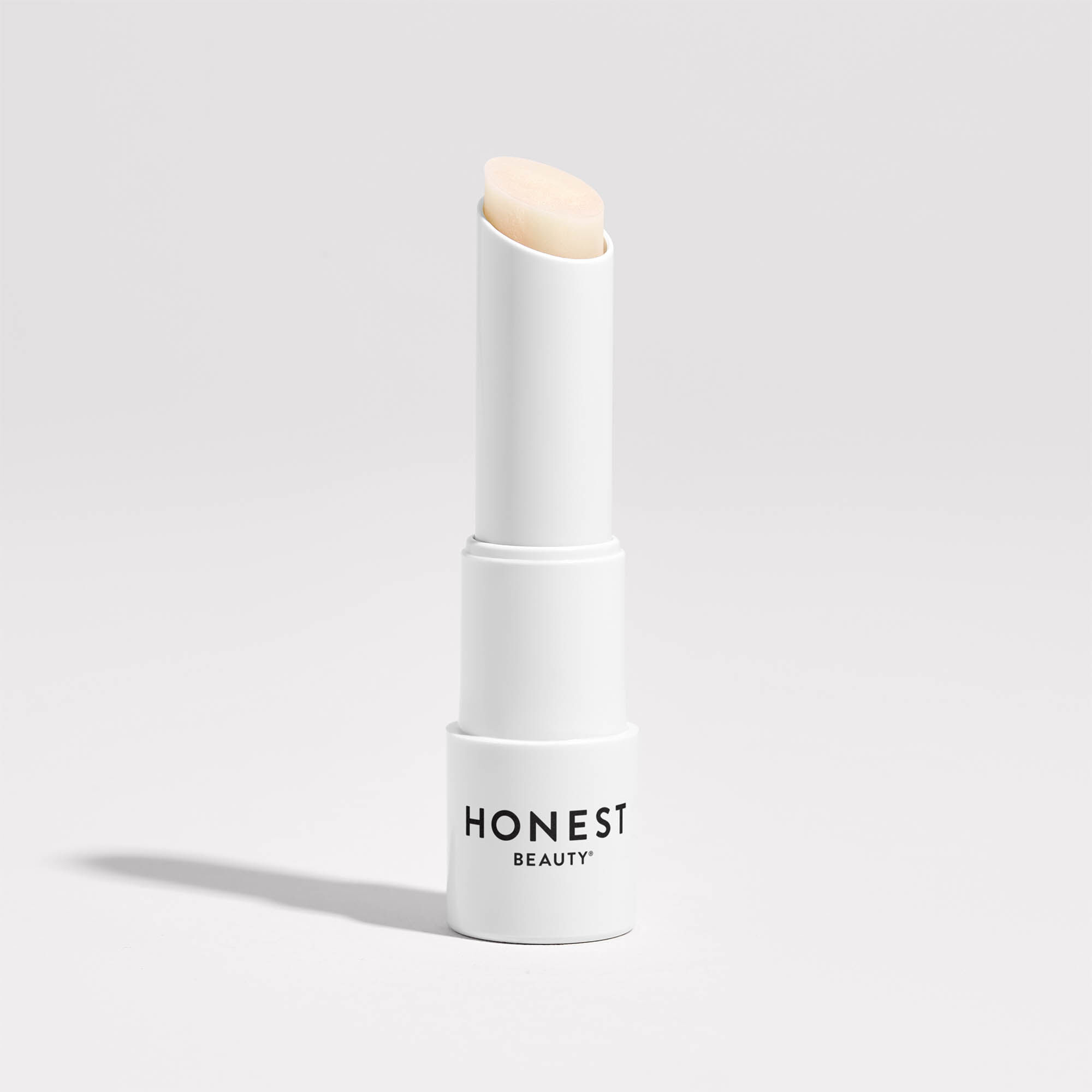white nectarine lip balm product