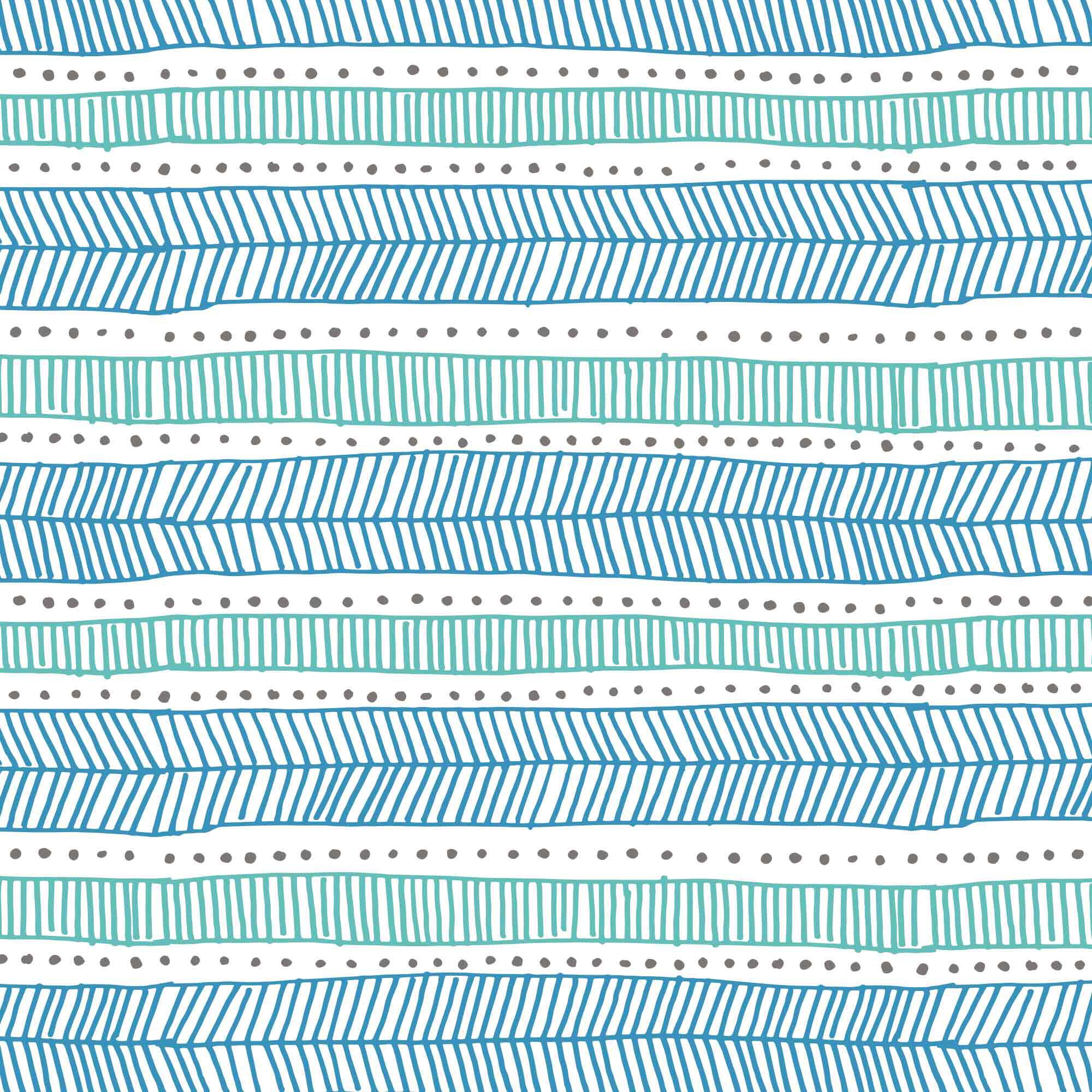 teal tribal swatch