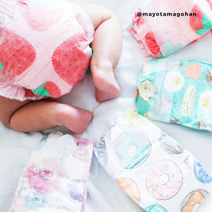 Diapers, Rose Blossom, Size NB