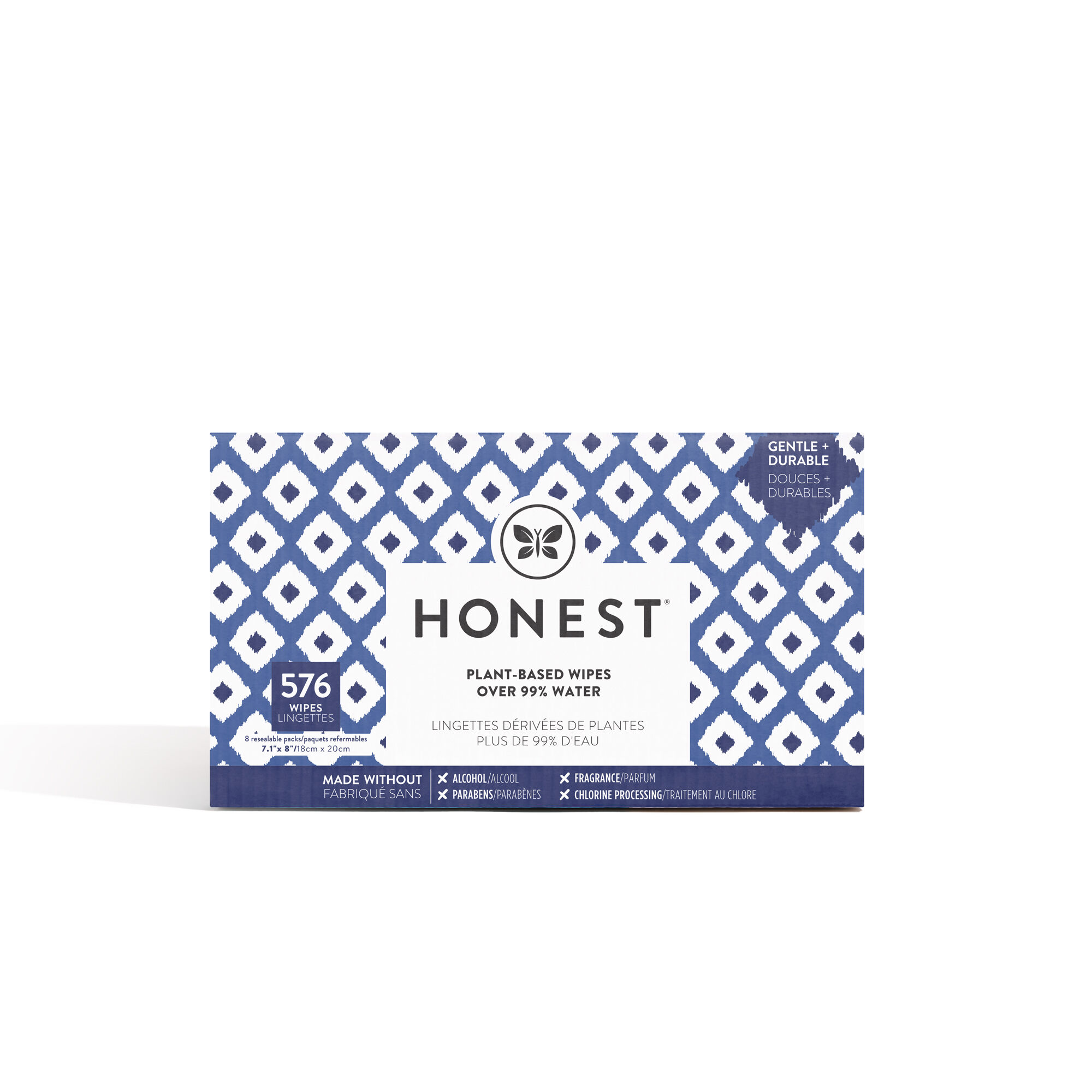 Blue Ikat Wipes 576 count