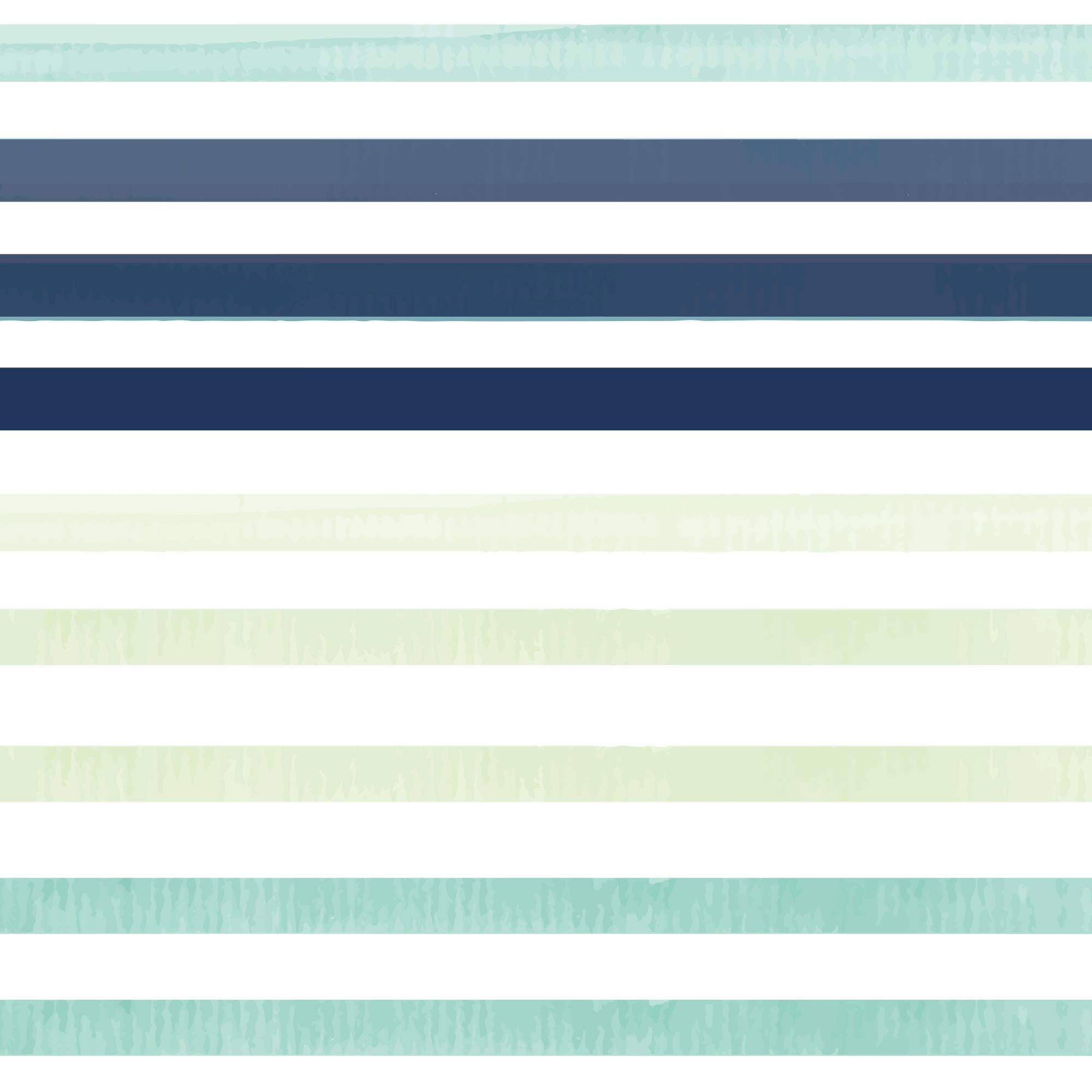 Clean Conscious Diaper, Classic Stripes, Size 3
