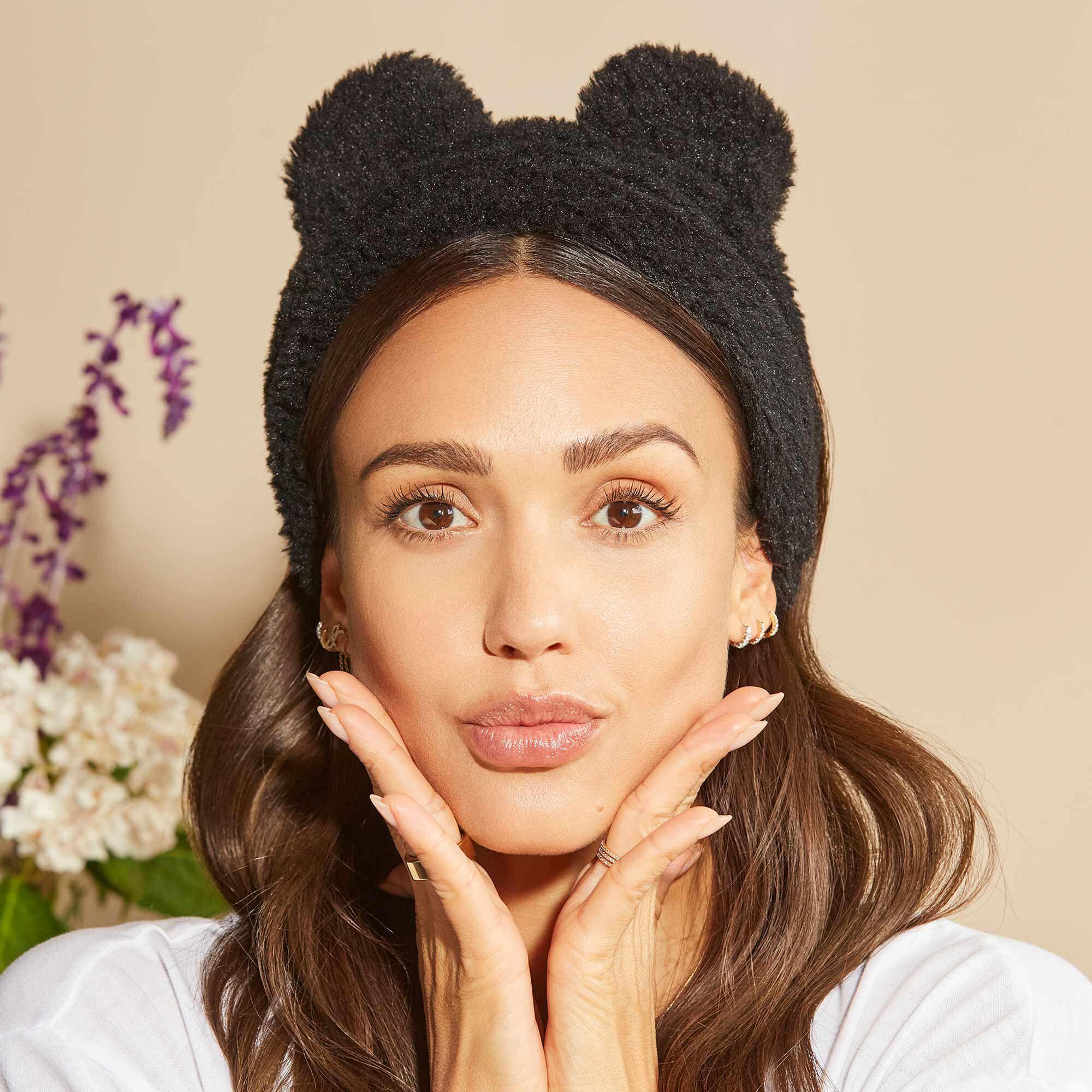 Fuzzy Headband, Black