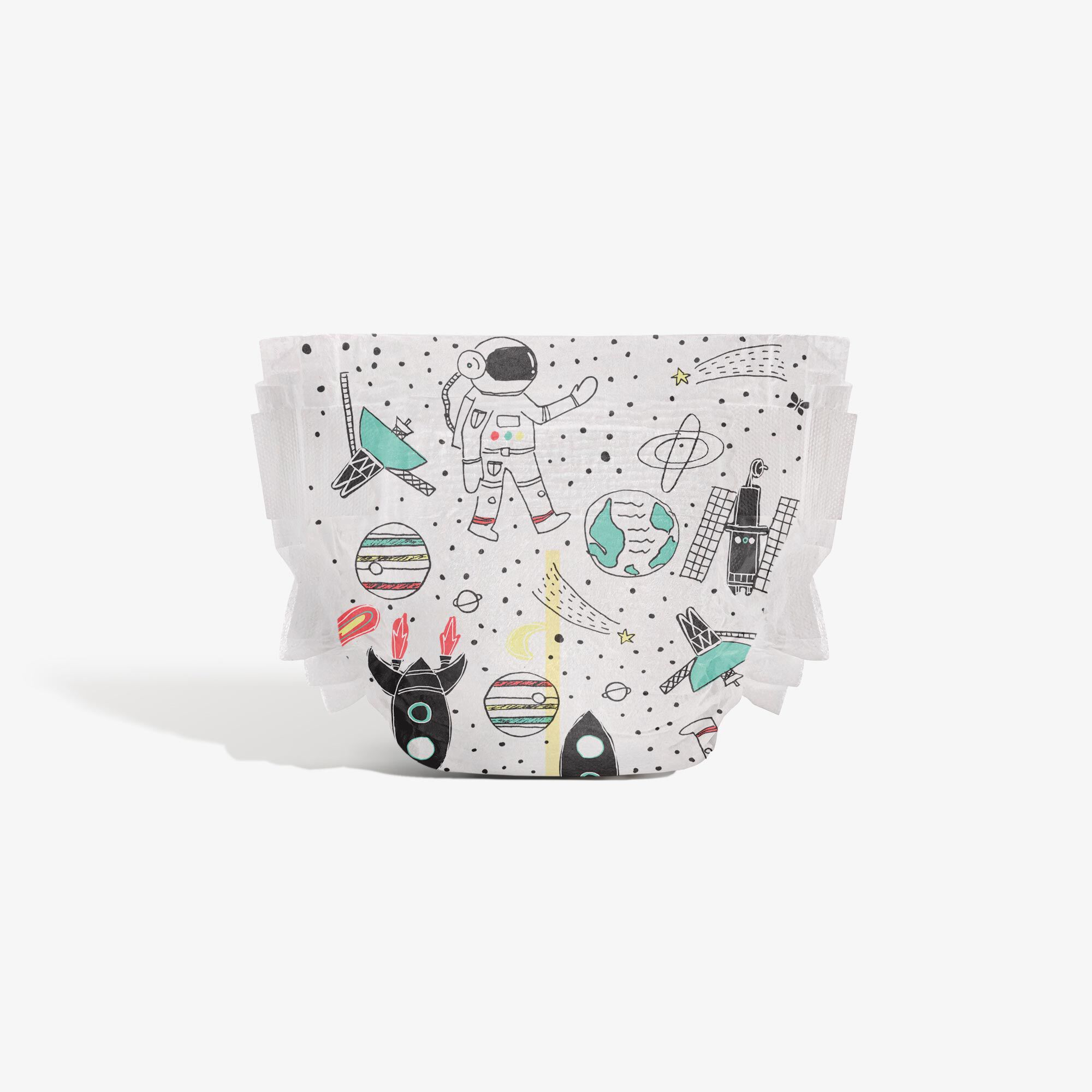Clean Conscious Diaper, Space Traveling, Size 4