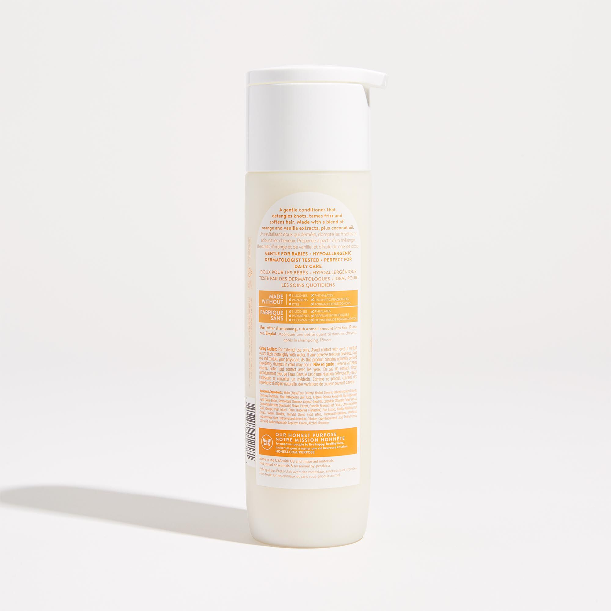 Everyday Gentle Conditioner Back of Bottle
