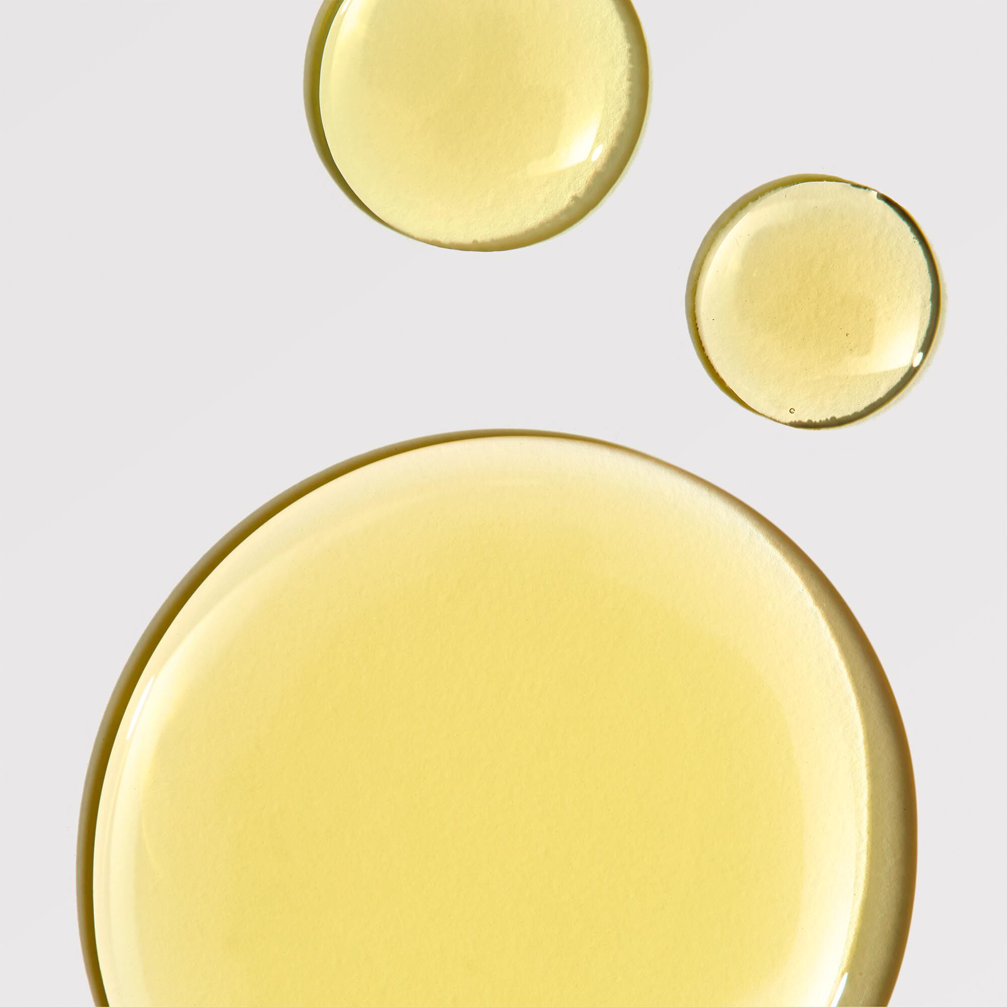 beauty facial oil smear