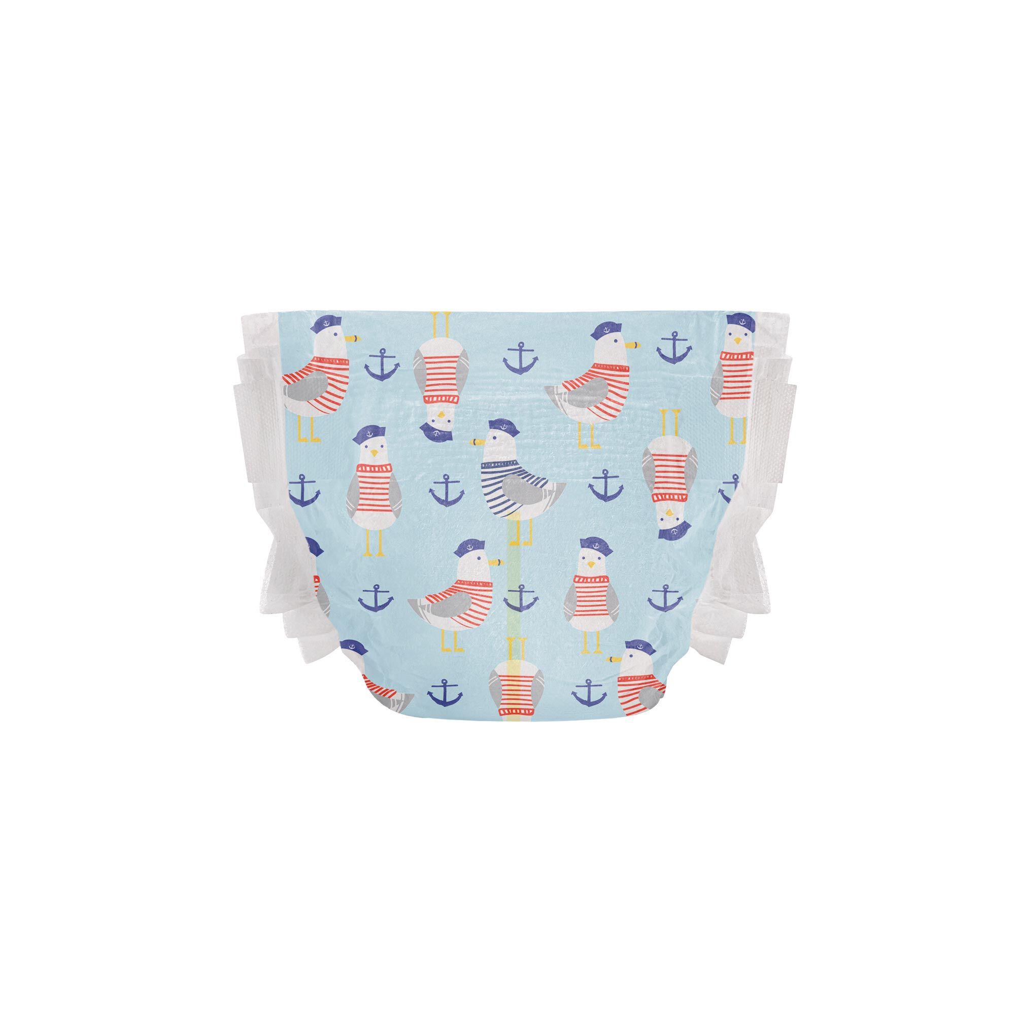 Clean Conscious Diaper, Feelin Nauti, Size 4