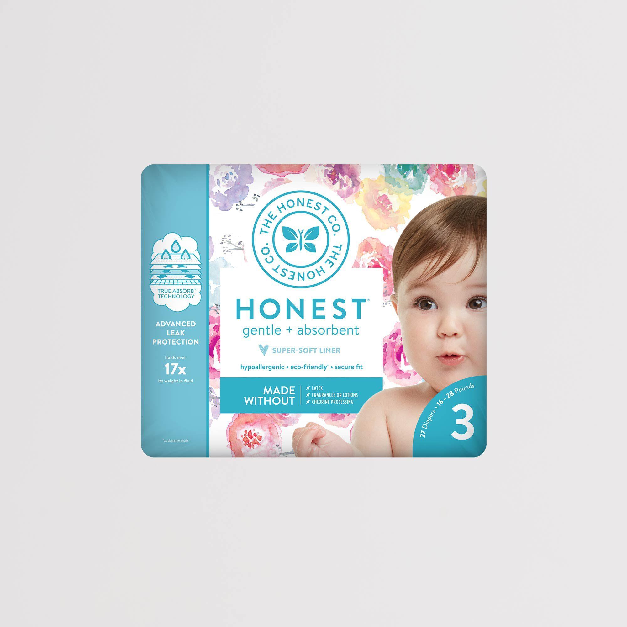 rose blossom diaper package