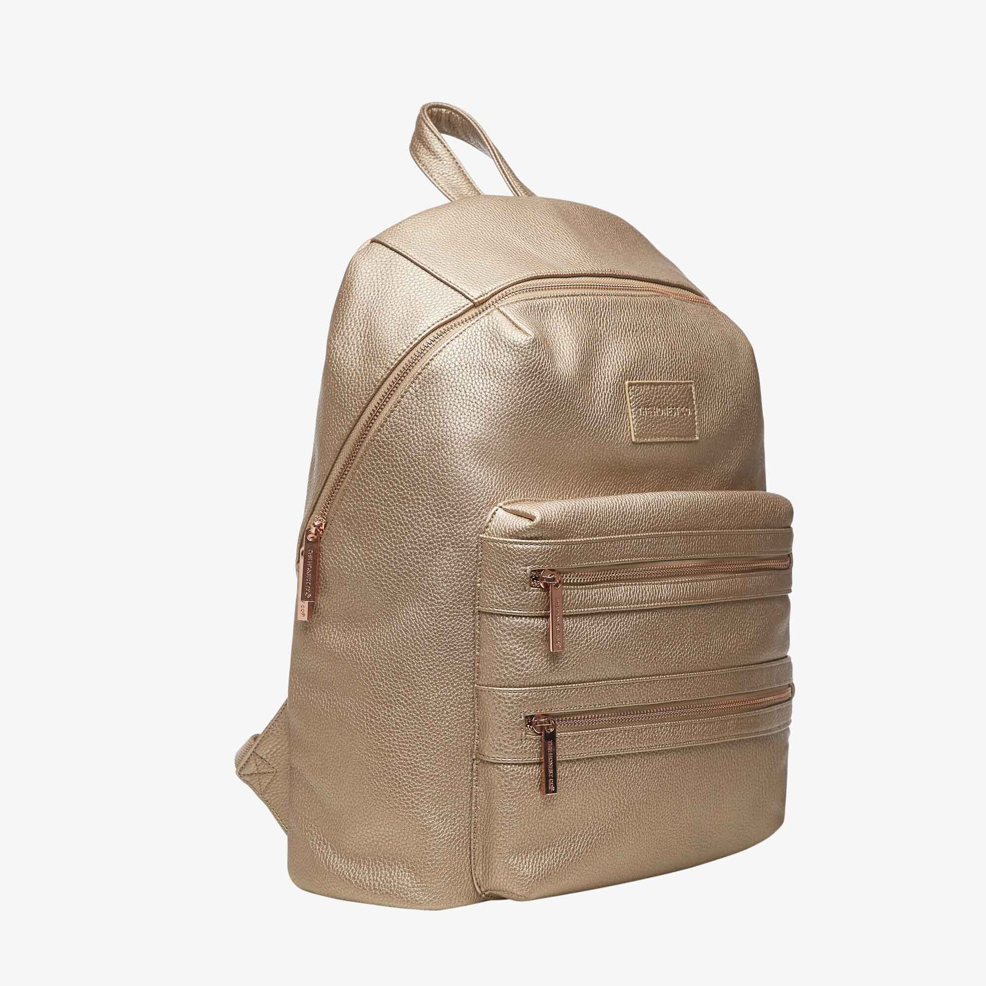 Honest™️ City Backpack - Champagne