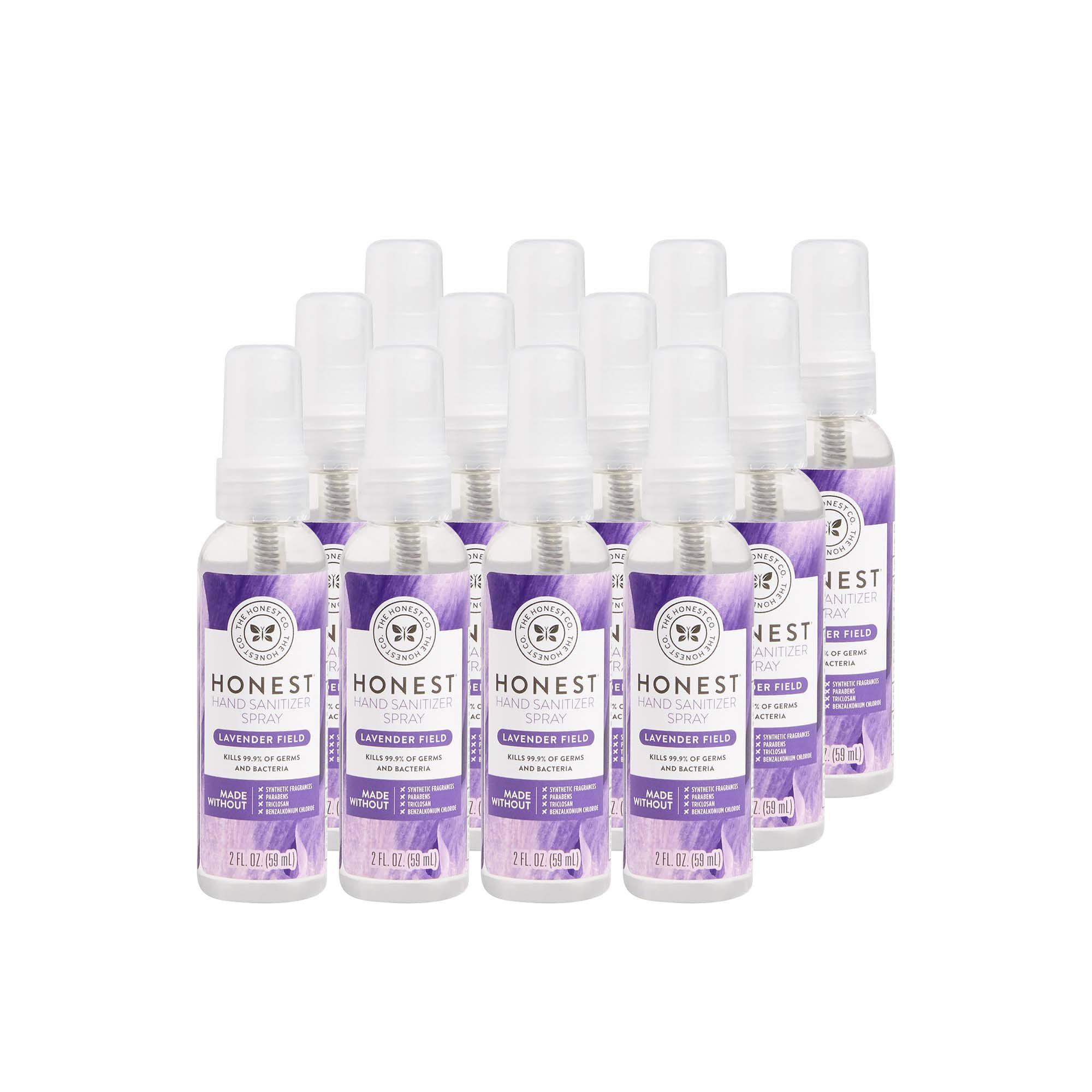 Hand Sanitizer Spray, Lavender Field, 12 Pack