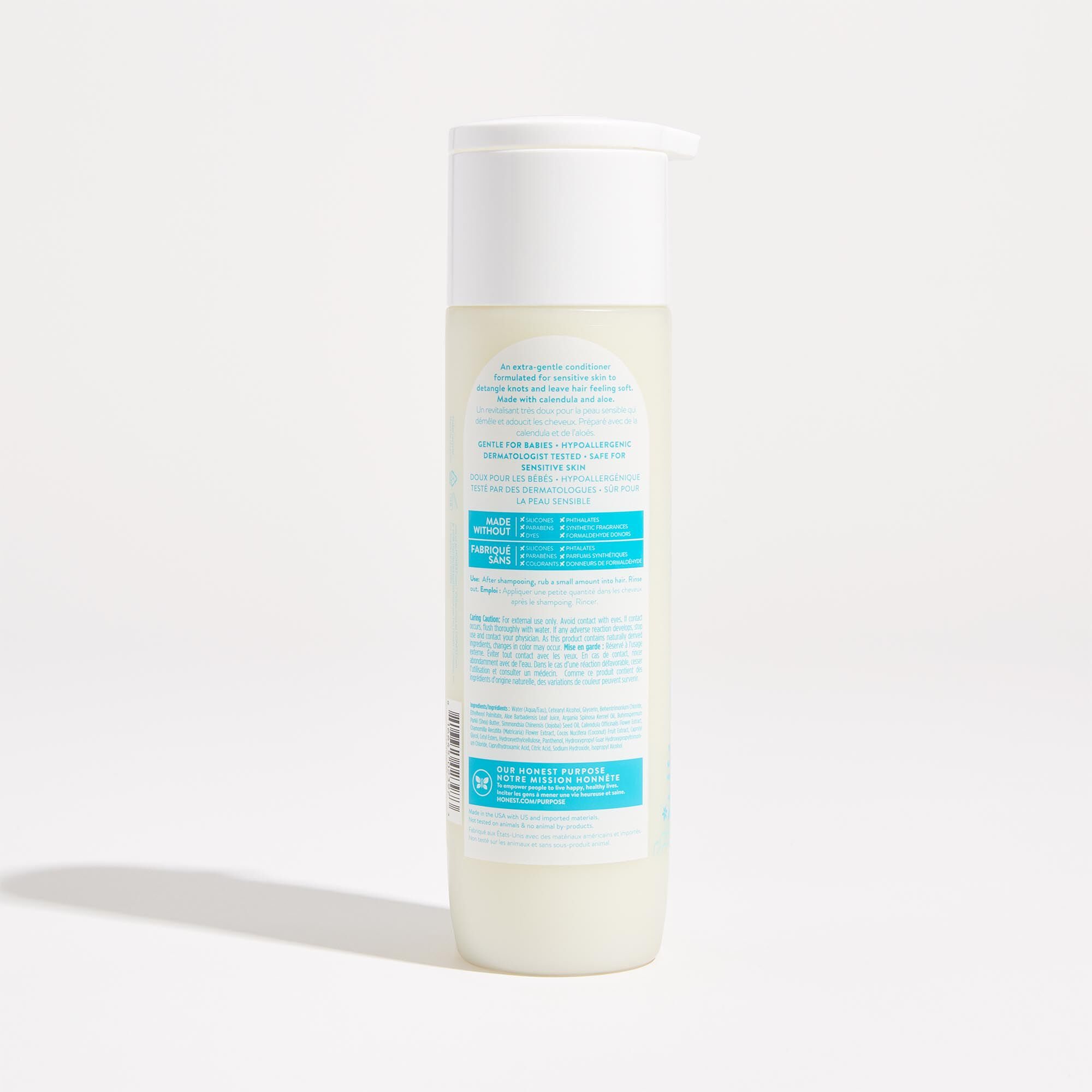 Fragrance Free Scented Conditioner Back of Product