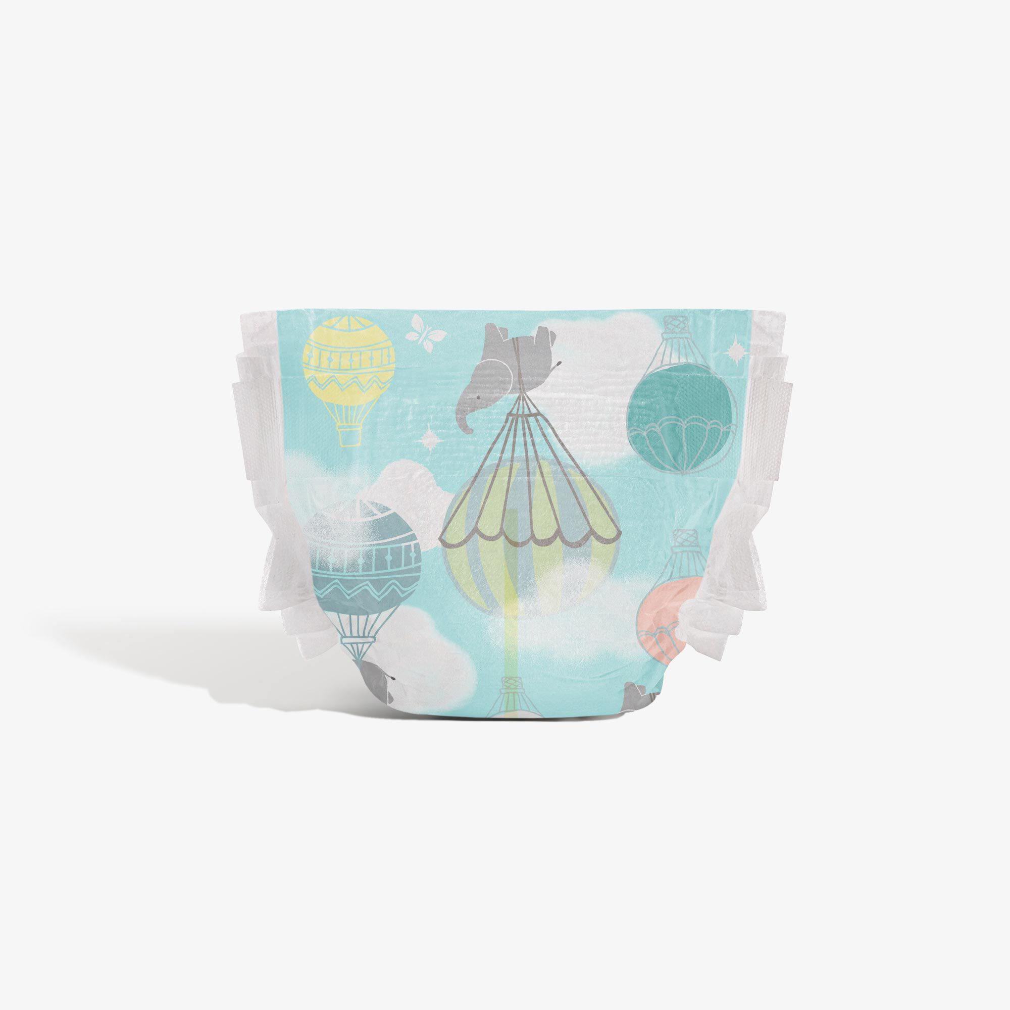 Clean Conscious Diaper, Above It All, Size 1