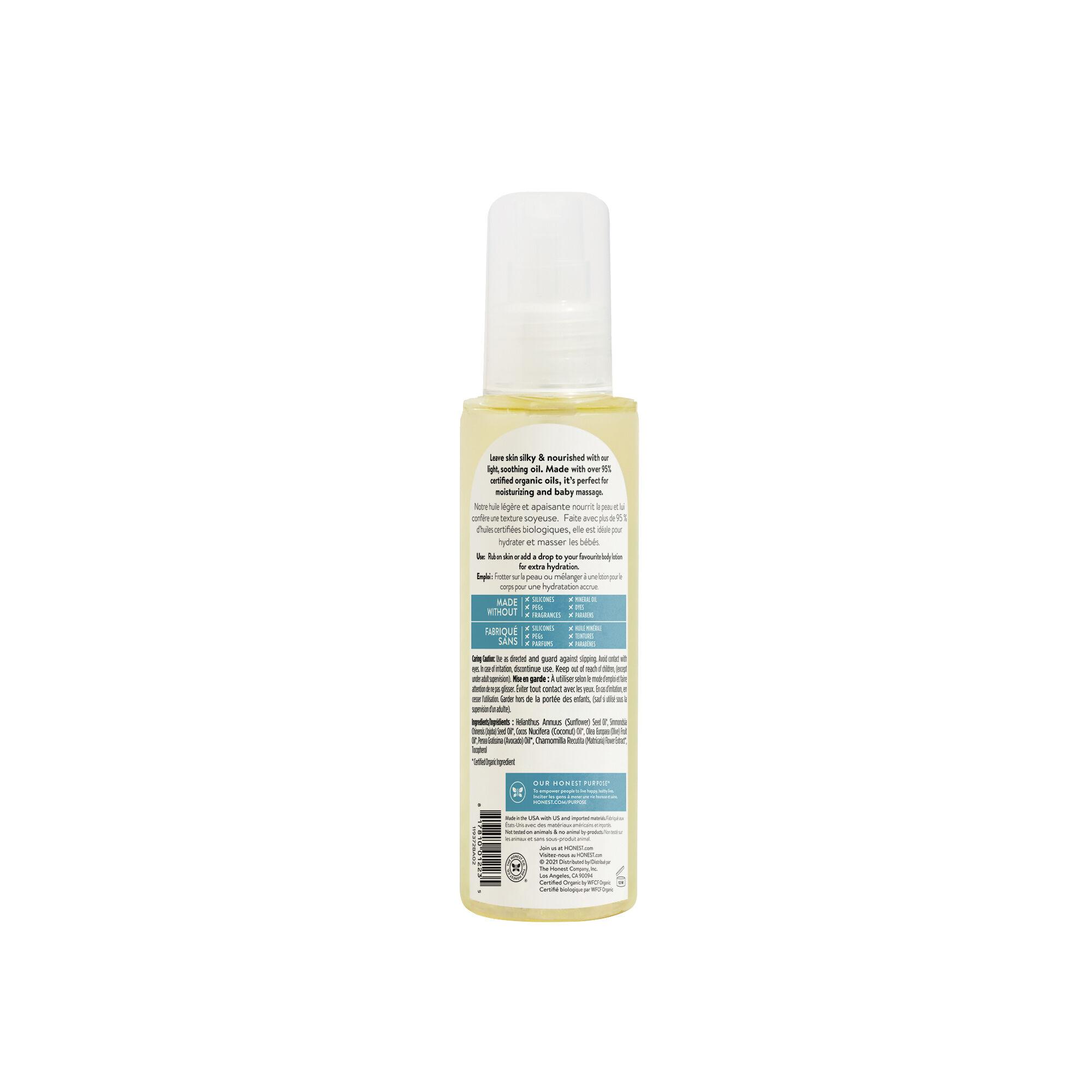 Organic Body Oil