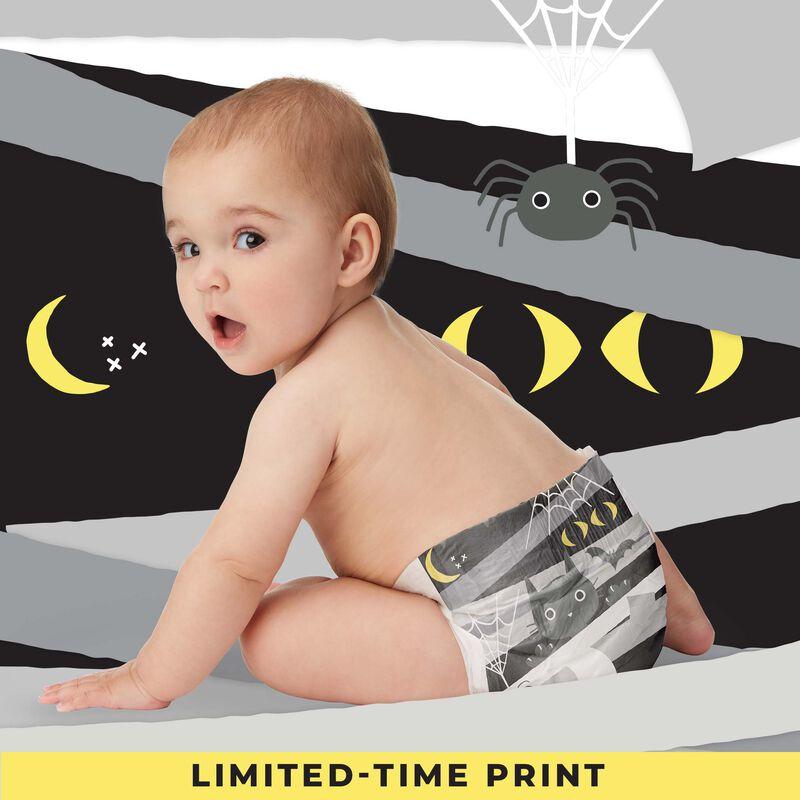 halloween diaper on baby