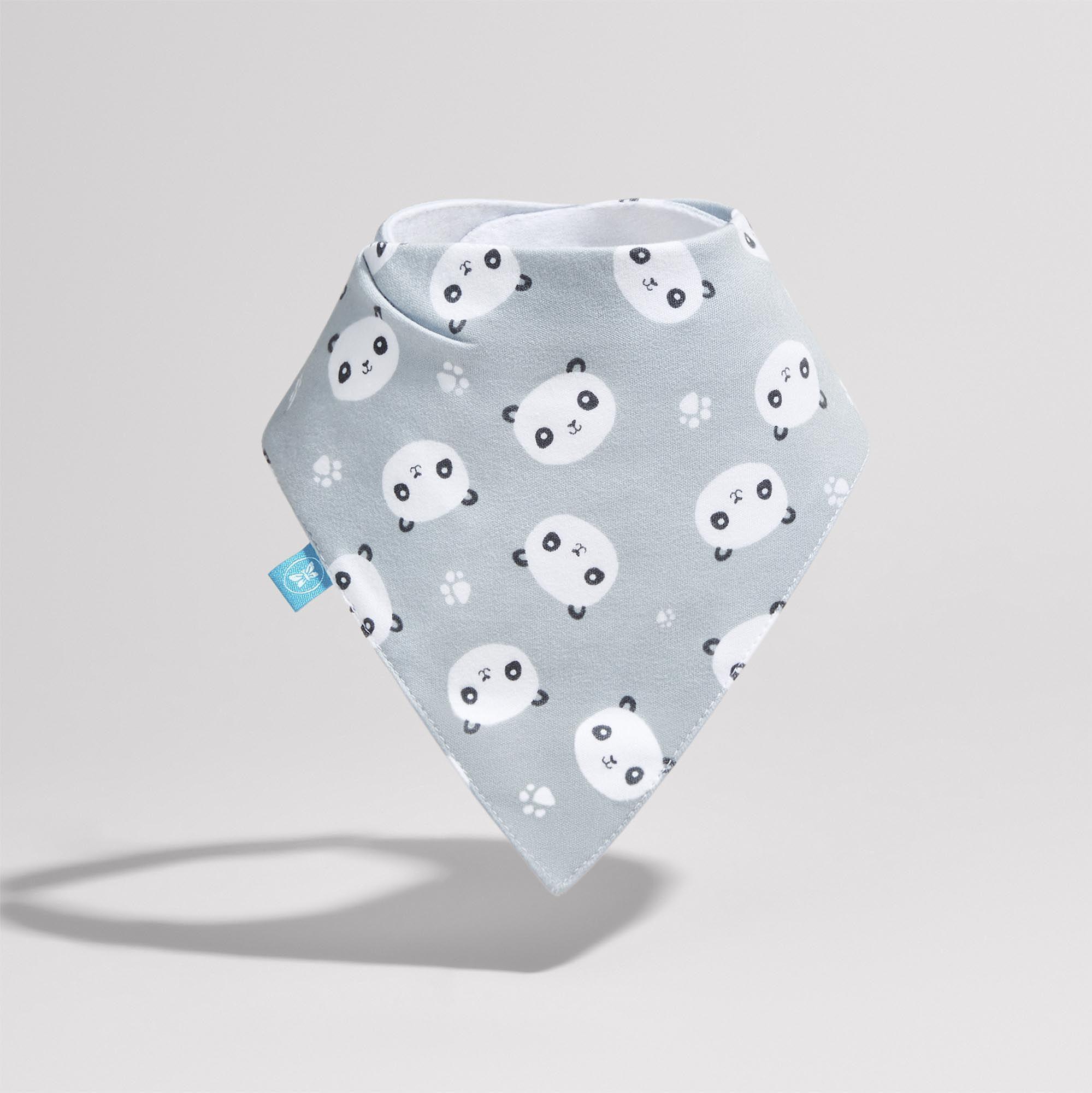 Magnetic Bib in Pandas Print