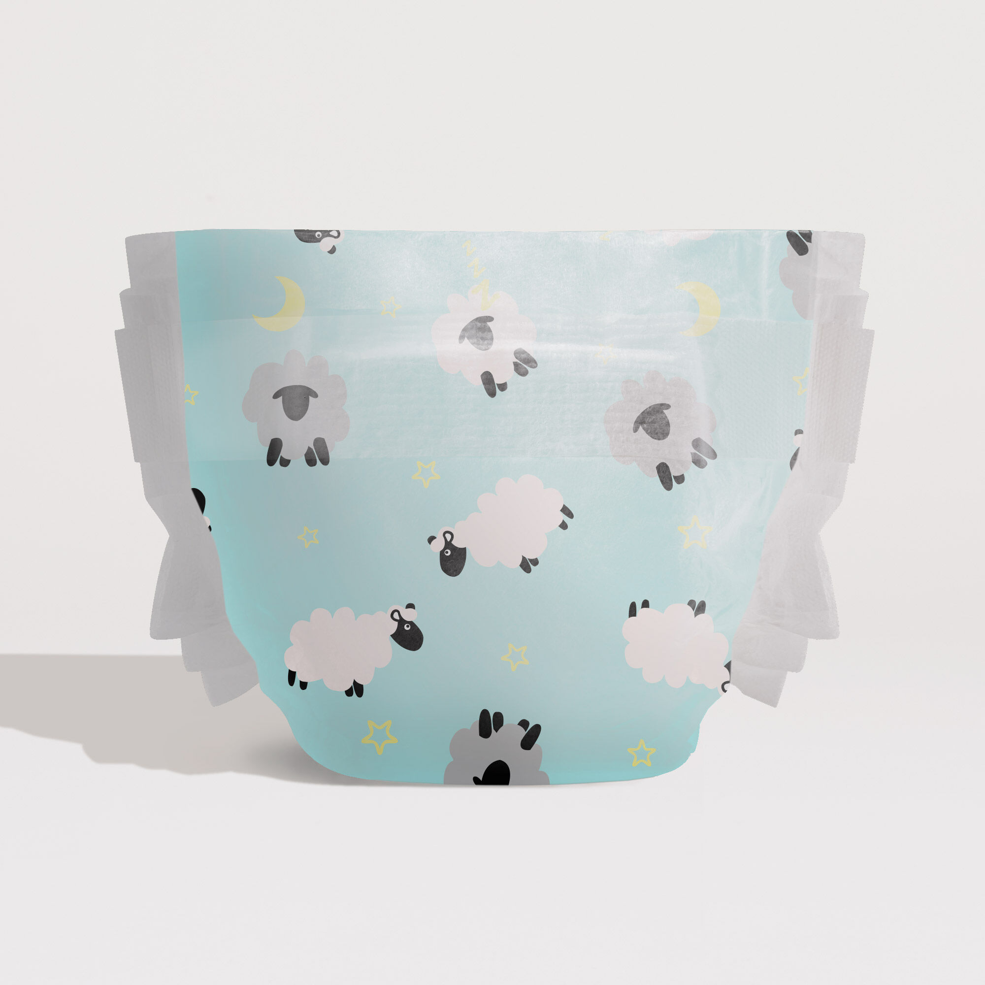 Sleepy Sheep Printed Diaper