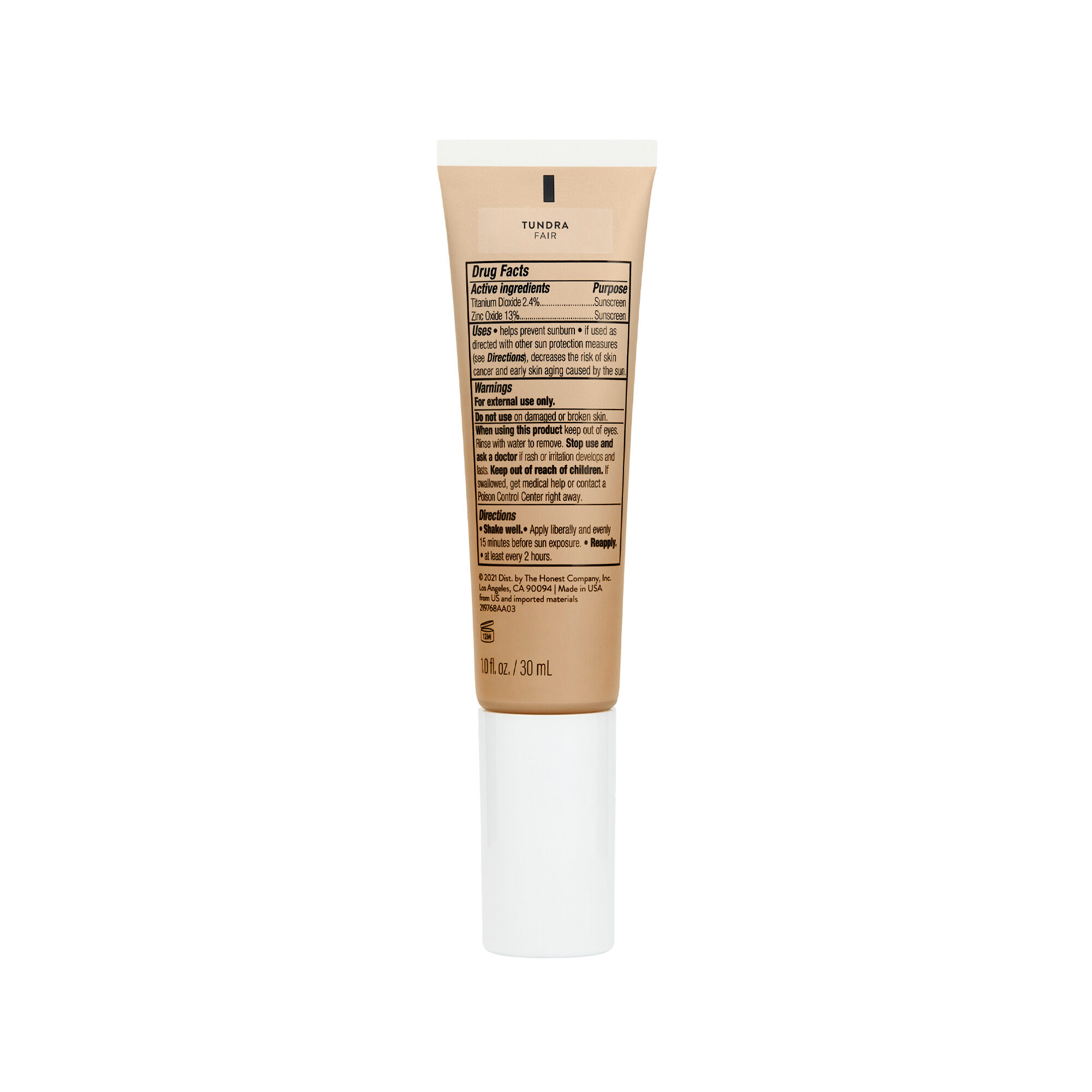 CCC Clean Corrective With Vitamin C Tinted Moisturizer Broad Spectrum SPF 30, Tundra