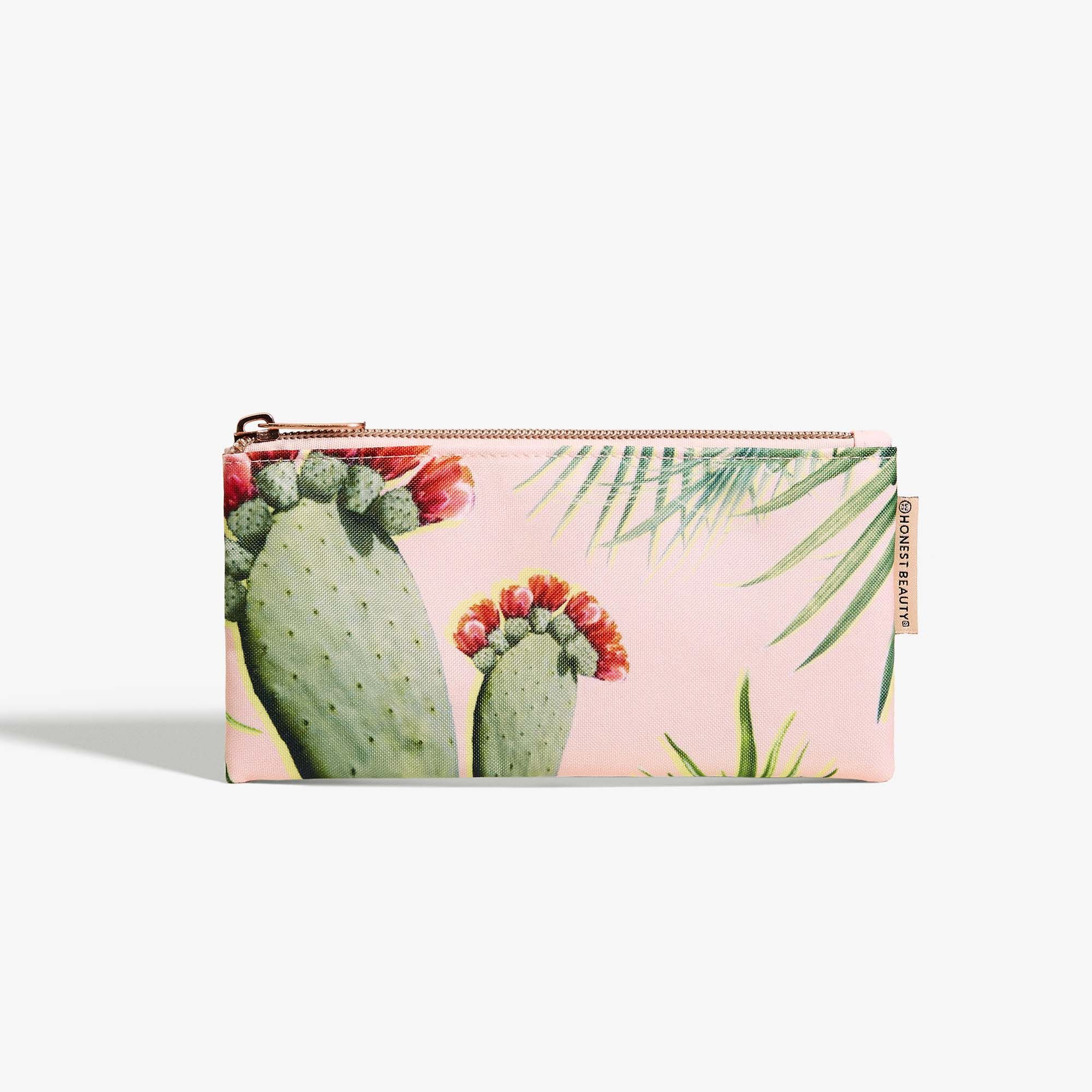 Palm Print Beauty Bag, Small