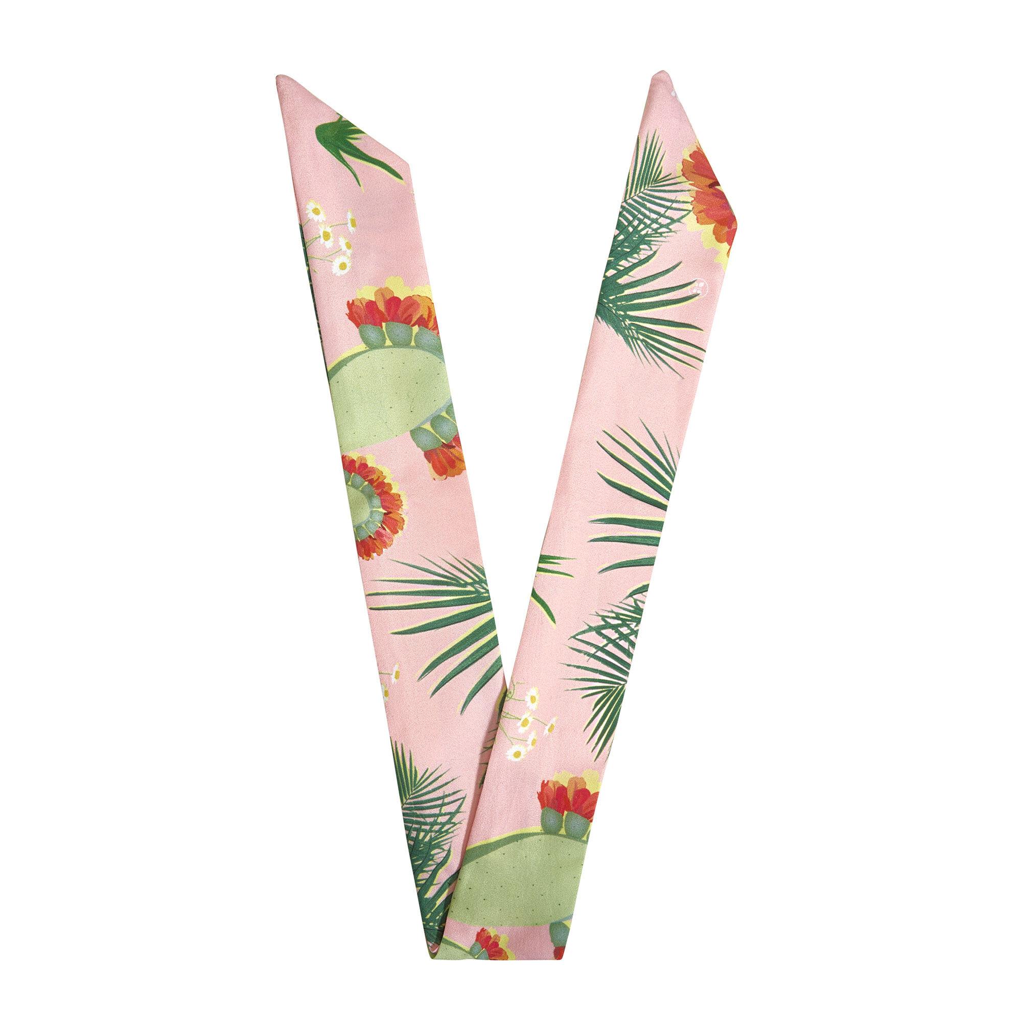 Twist Headwrap, Palm Print