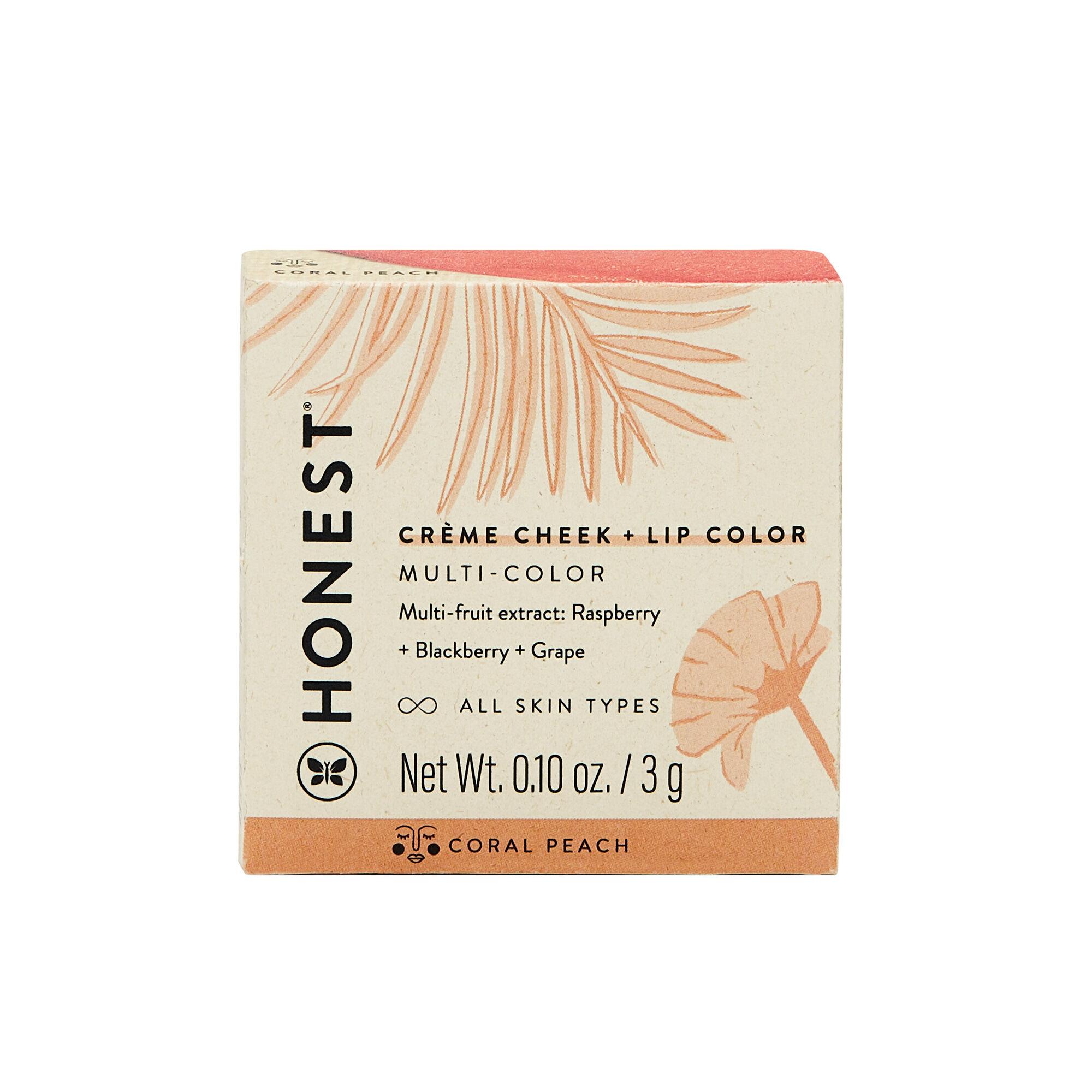 Creme Cheek + Lip Color, Coral Peach