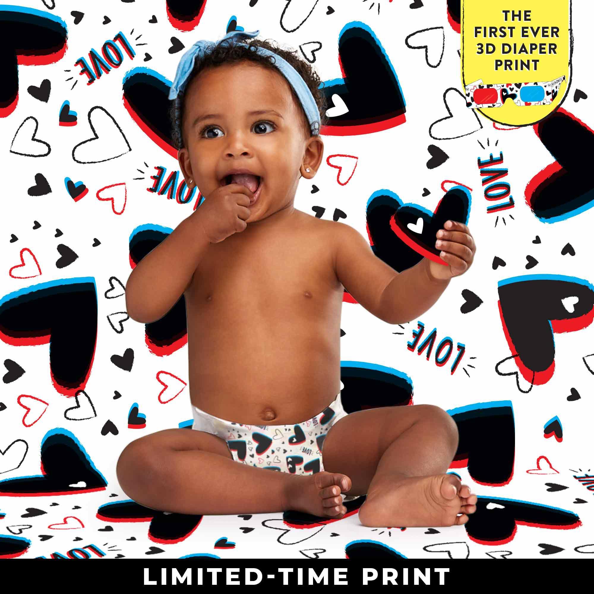 valentines diaper - limited edition diaper